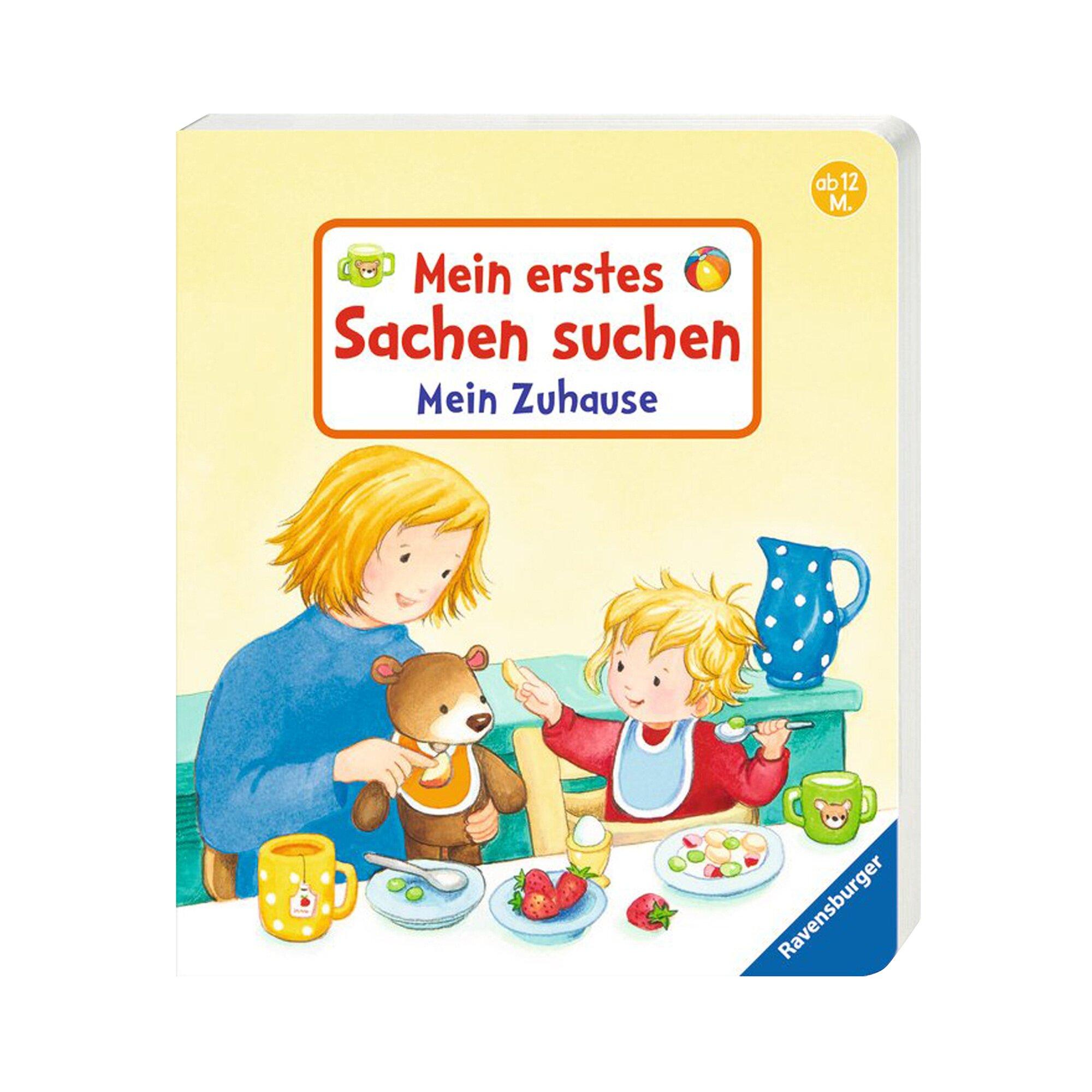 Pappbilderbücher Pappbilderbuch Mein erstes Sachen suchen: Mein Zuhause