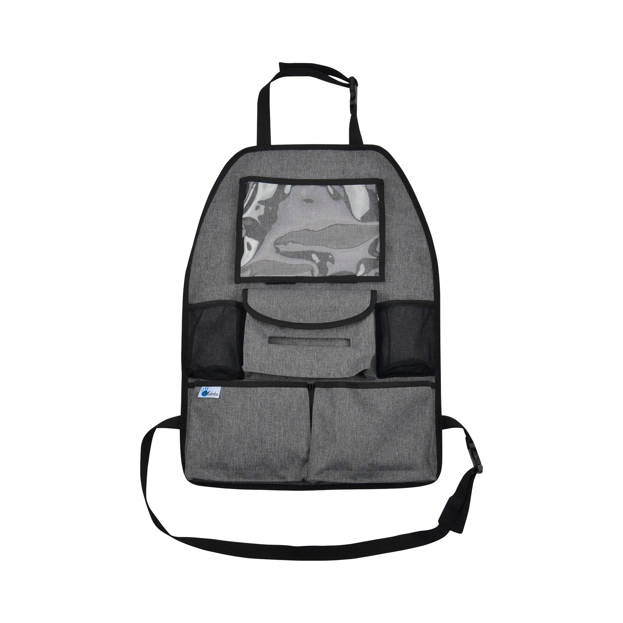 Altabebe Rückenlehnen-, Spielzeugtasche Deluxe mit Tablet-Fach