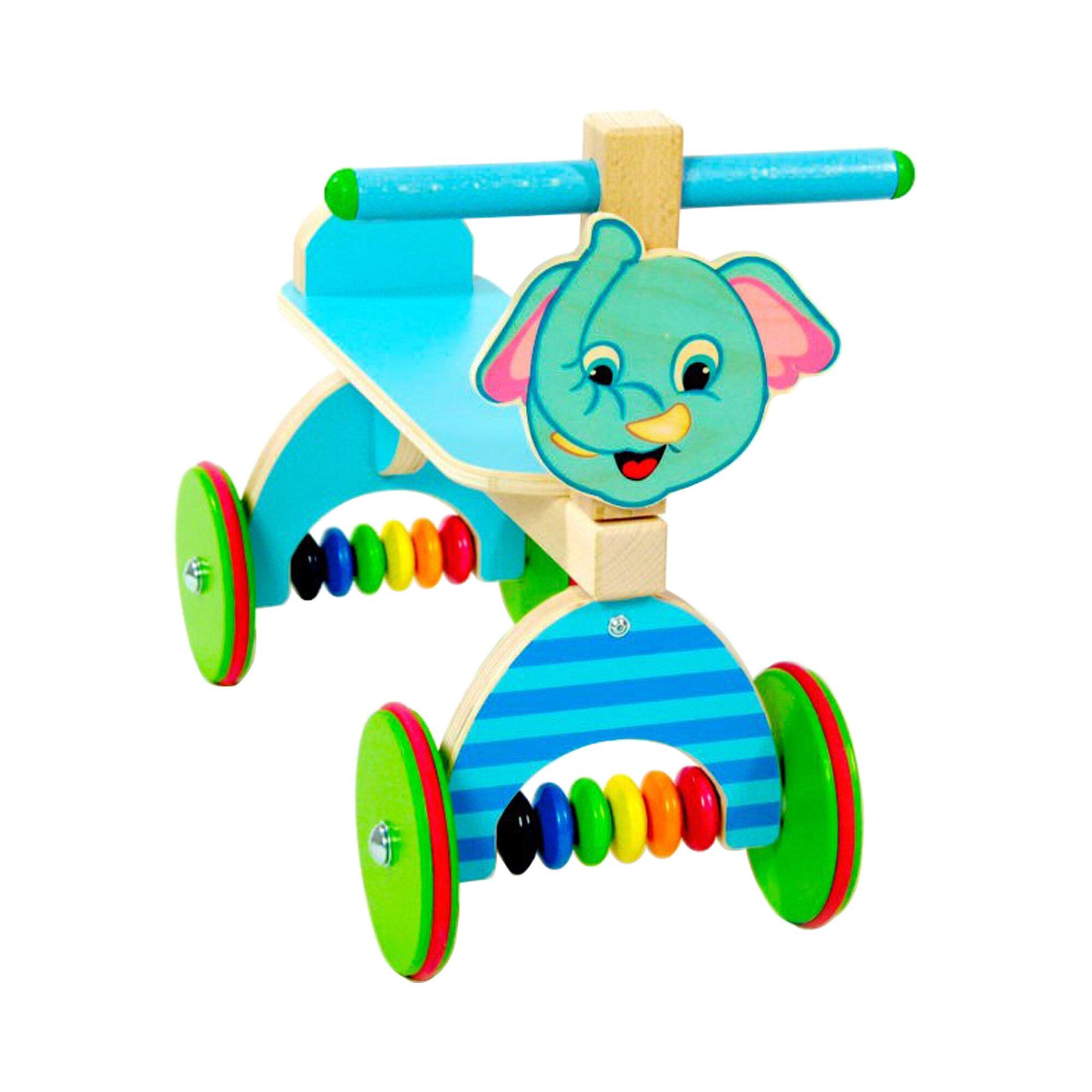 Hess Spielzeug Rutscher Elefant aus Holz