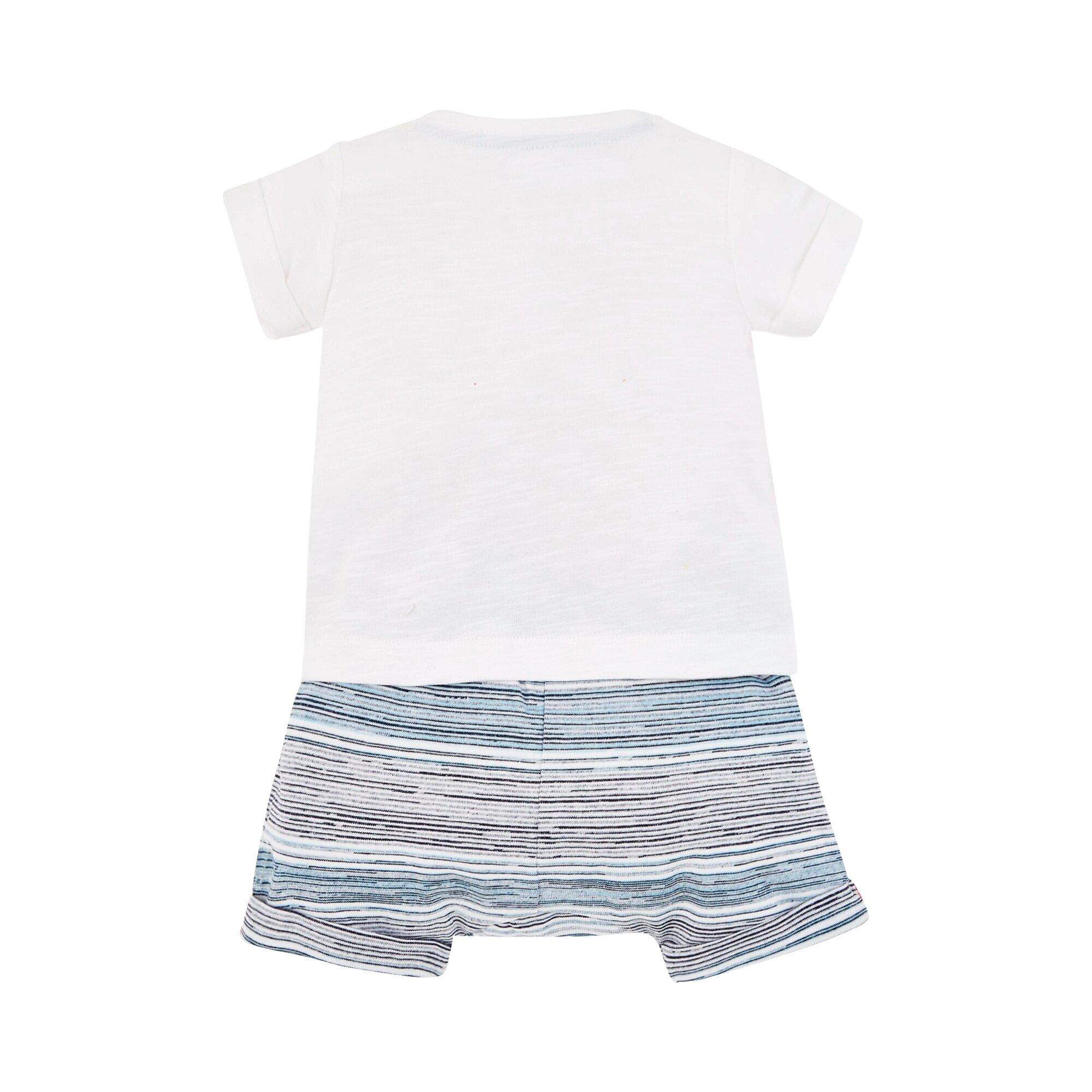 mothercare-2-tlg-set-shorts-und-t-shirt-krabbe