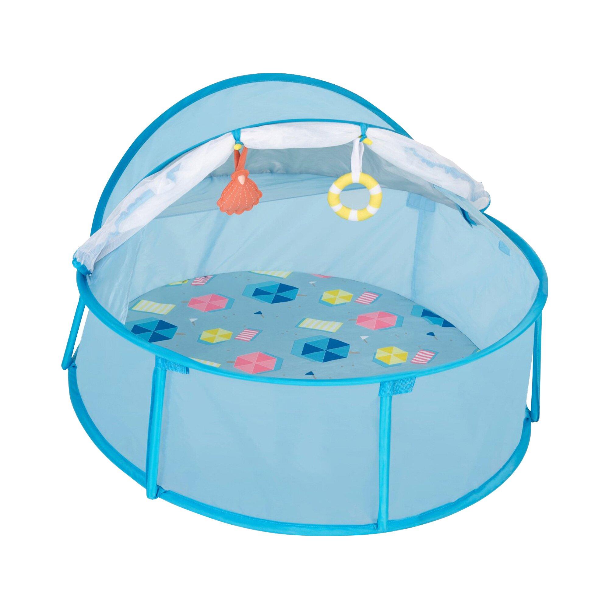 Babymoov Reise-Strandbett Babyni mit UV-Schutz 50+