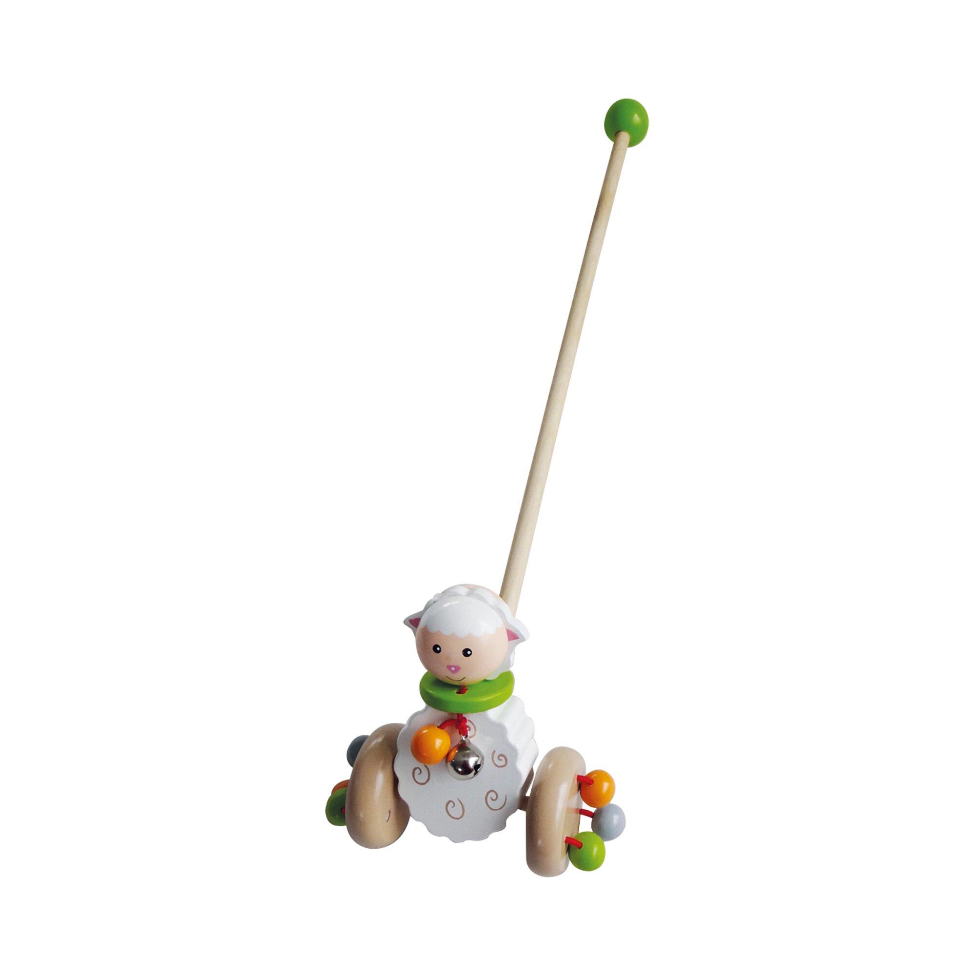 Bieco Schiebespielzeug Schäfchen Betty aus Holz