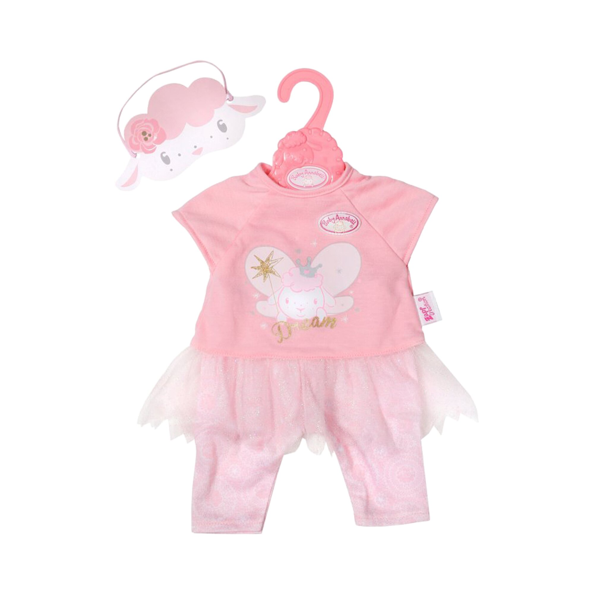 Baby Annabell Puppen Outfit Sweet Dreams Nachtfee 43cm