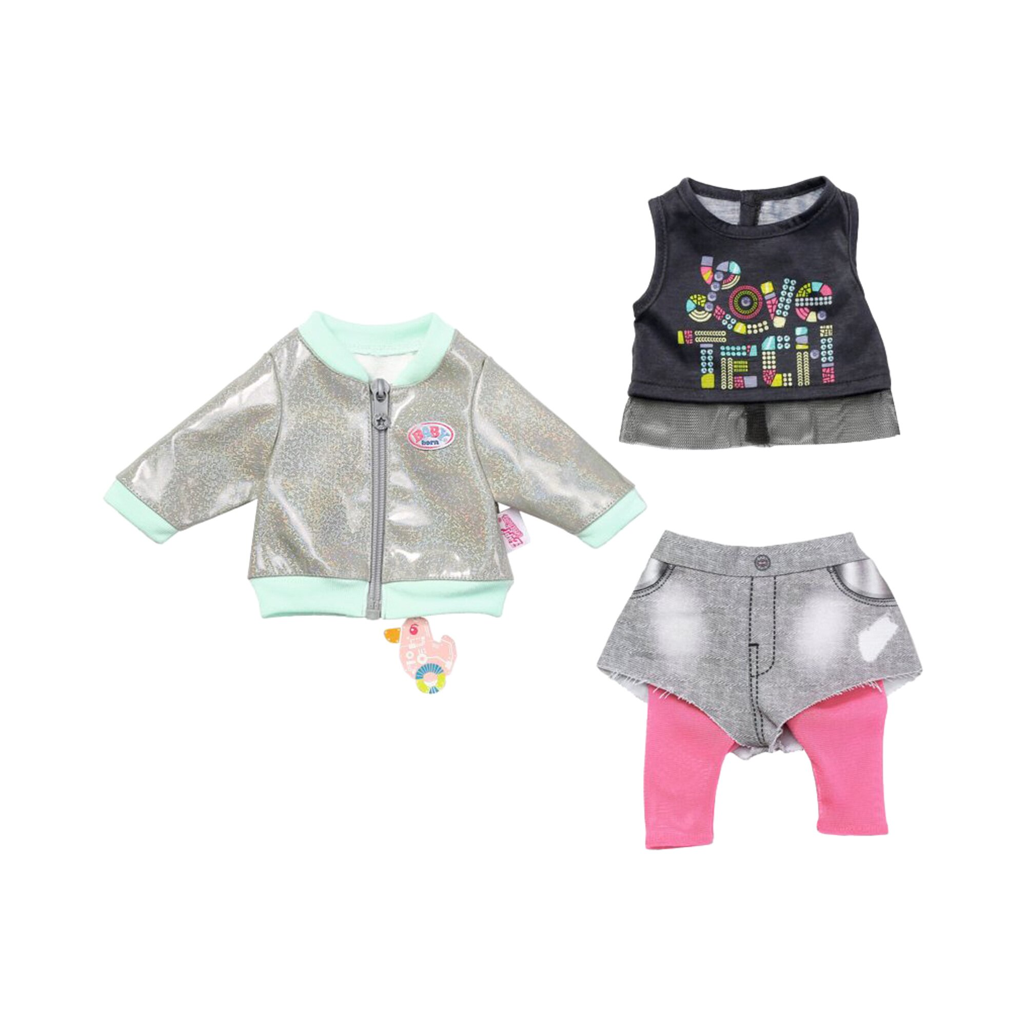 Baby Born BABY born Puppen Outfit Roboter Welt