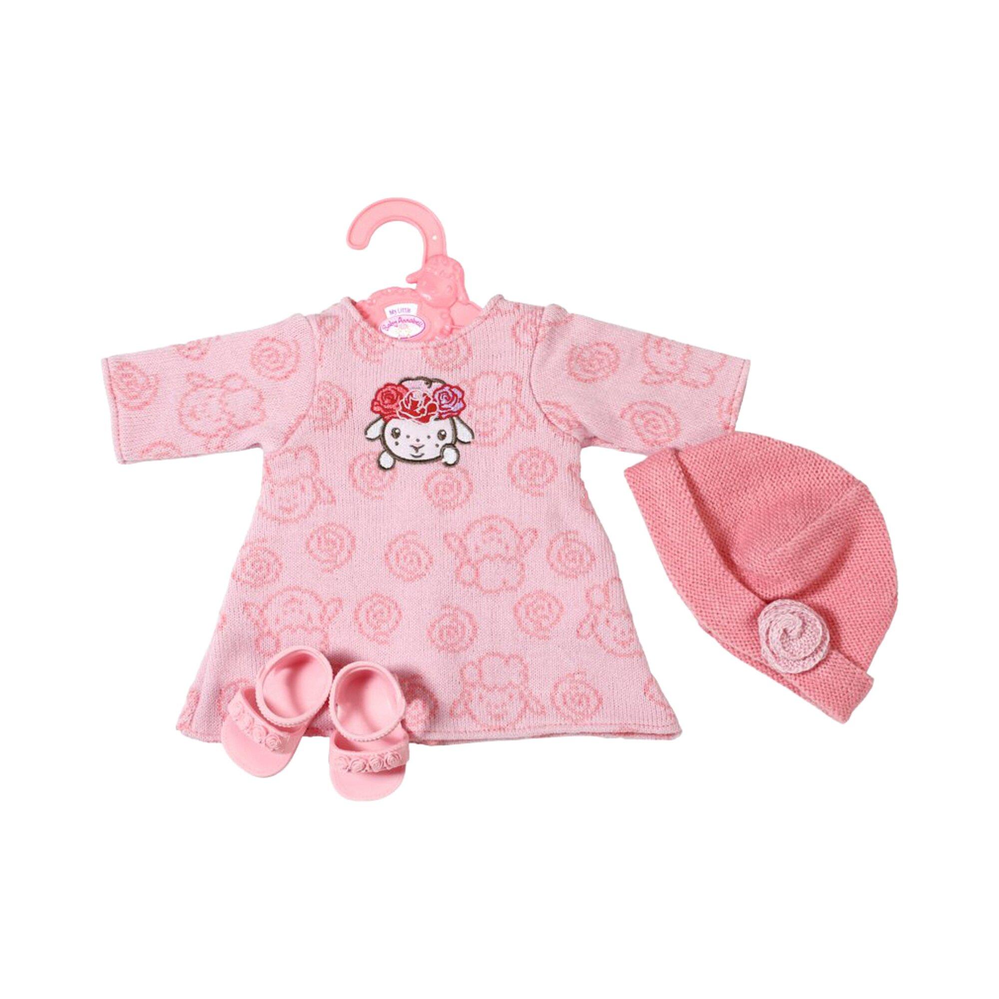 baby-annabell-puppen-outfit-kleines-strickkleid-36cm