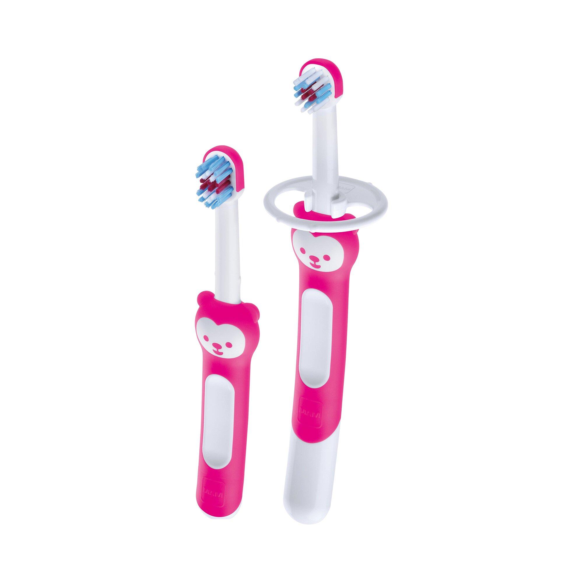 Mam 2er-Set Baby-Zahnbürsten