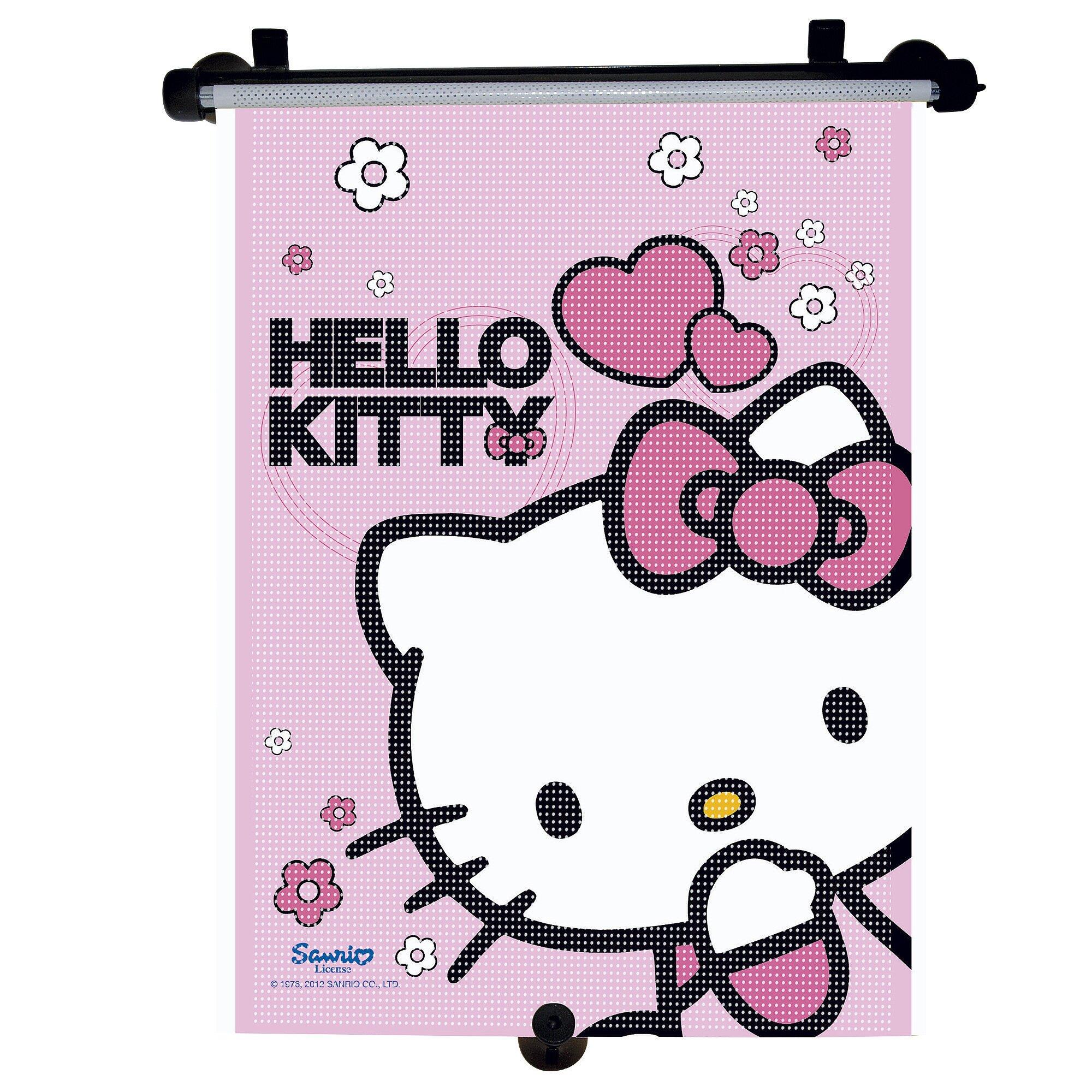 Hello Kitty Auto-Sonnenschutzrollo