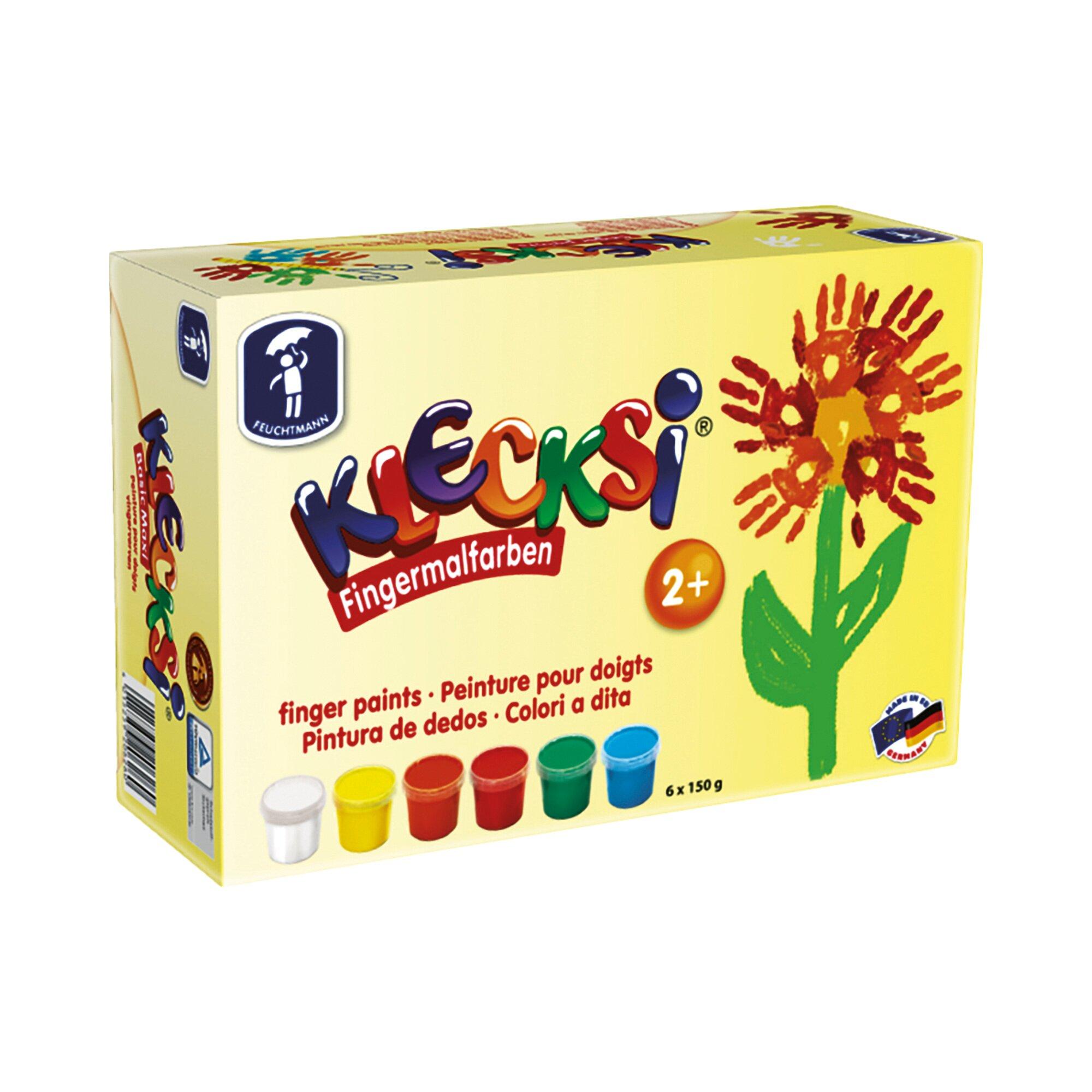 Feuchtmann 6er-Pack Fingermalfarben