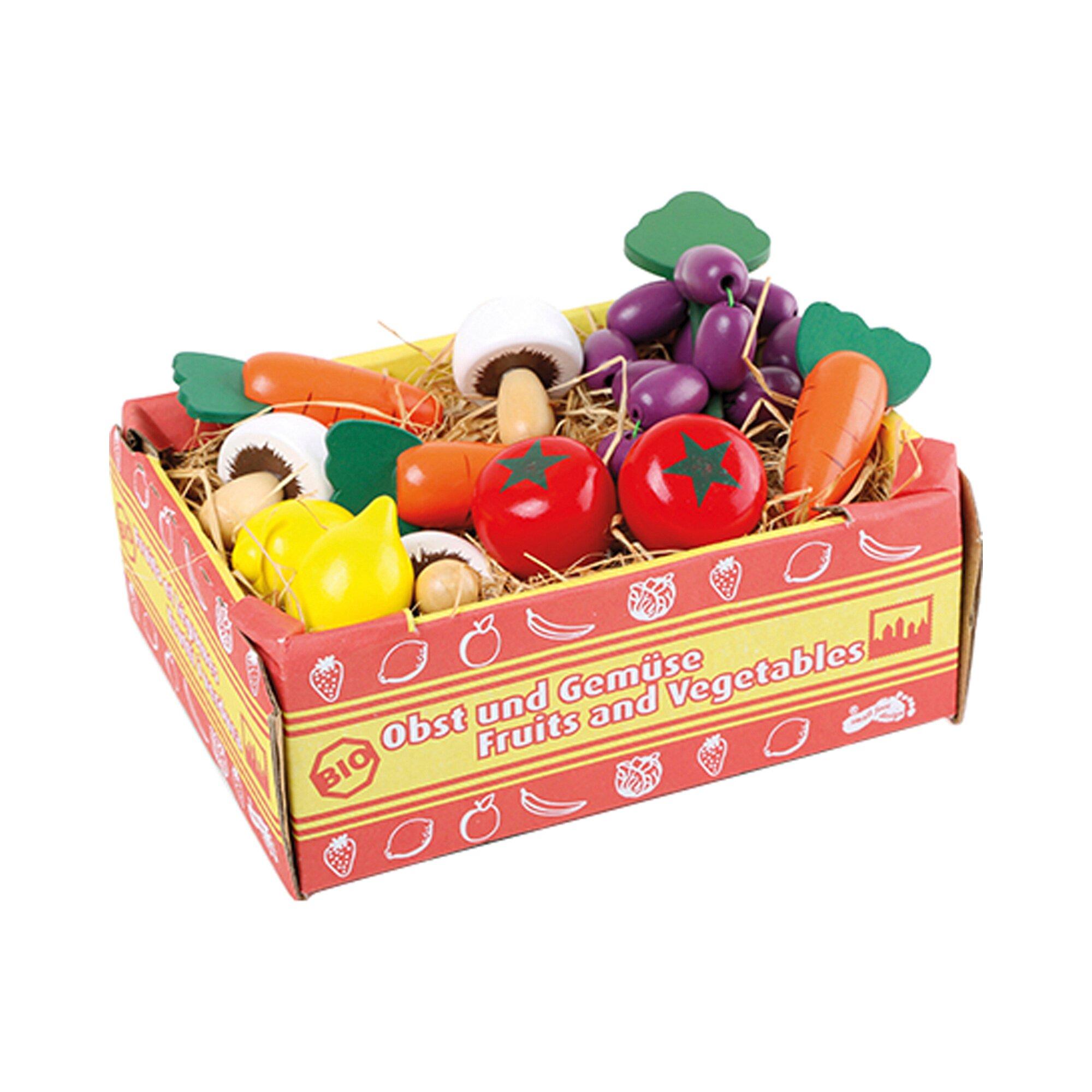 Small Foot Kiste mit Gemüse und Obst