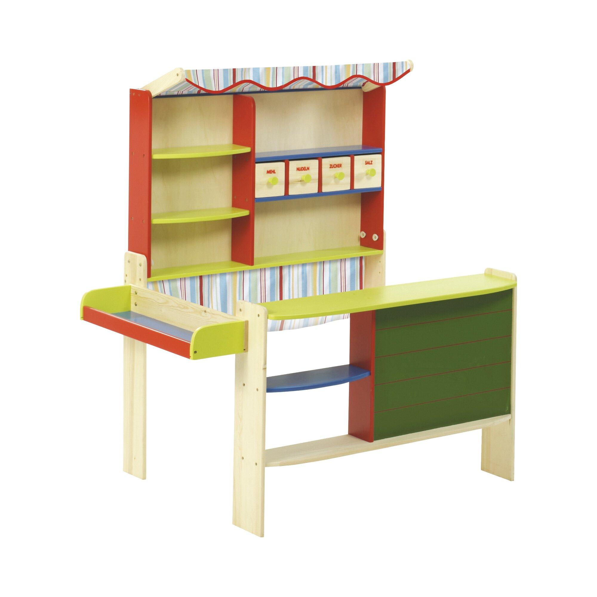 roba kaufladen mit stoffdach 9793 preisvergleich kaufladen g nstig kaufen bei. Black Bedroom Furniture Sets. Home Design Ideas