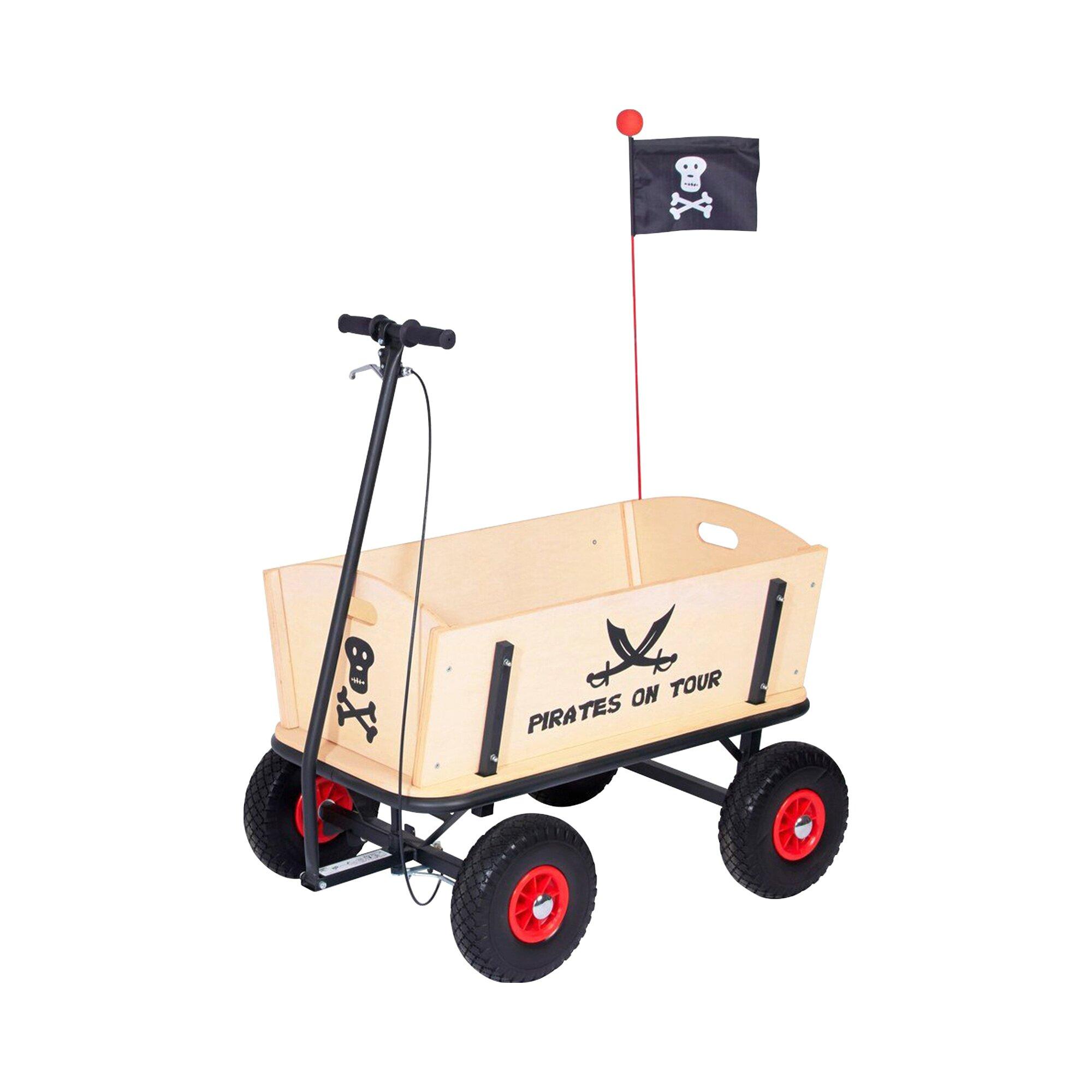 Pinolino Bollerwagen Pirat Jack mit Bremse