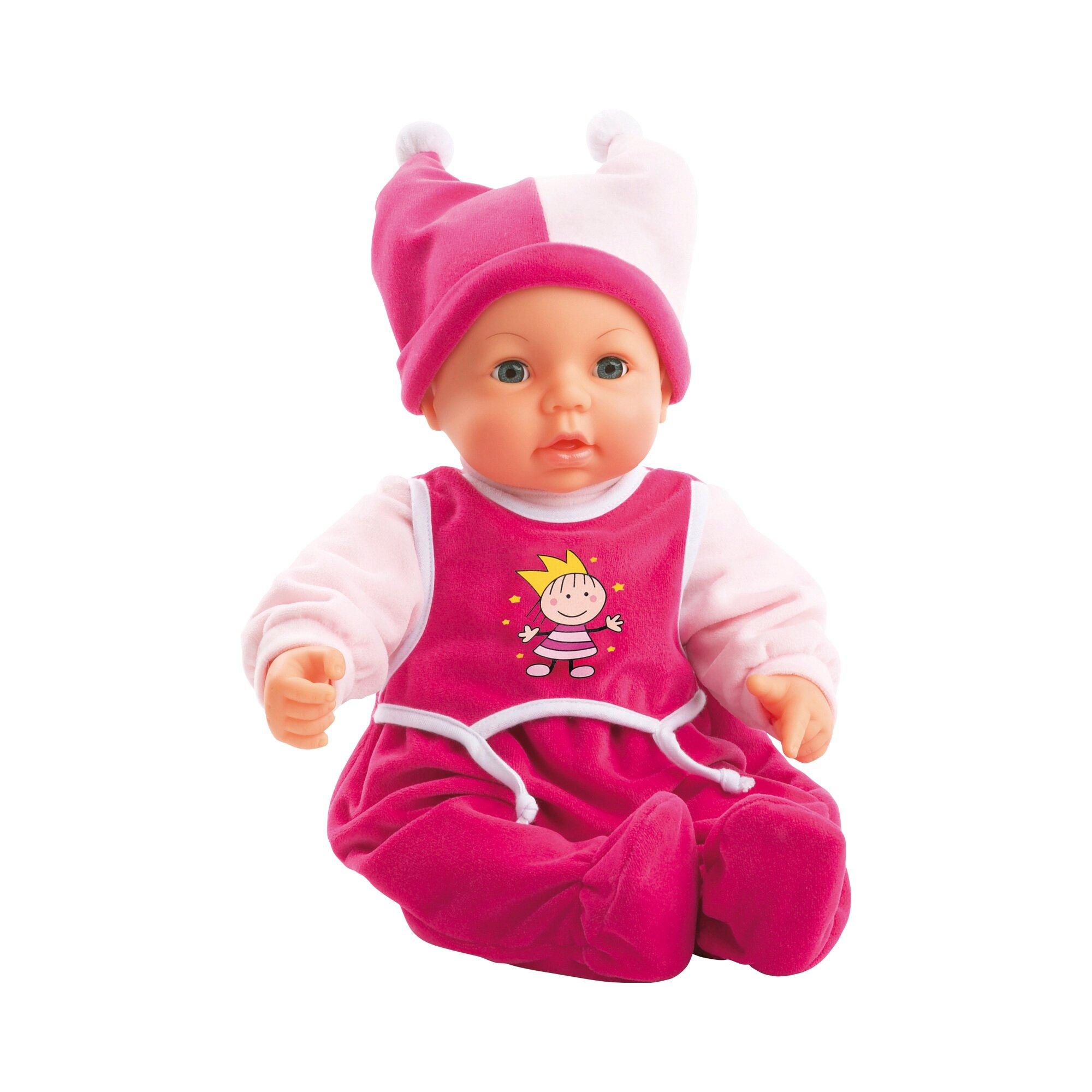 Bayer Design Puppe Hello Baby mit Funktionen 46cm