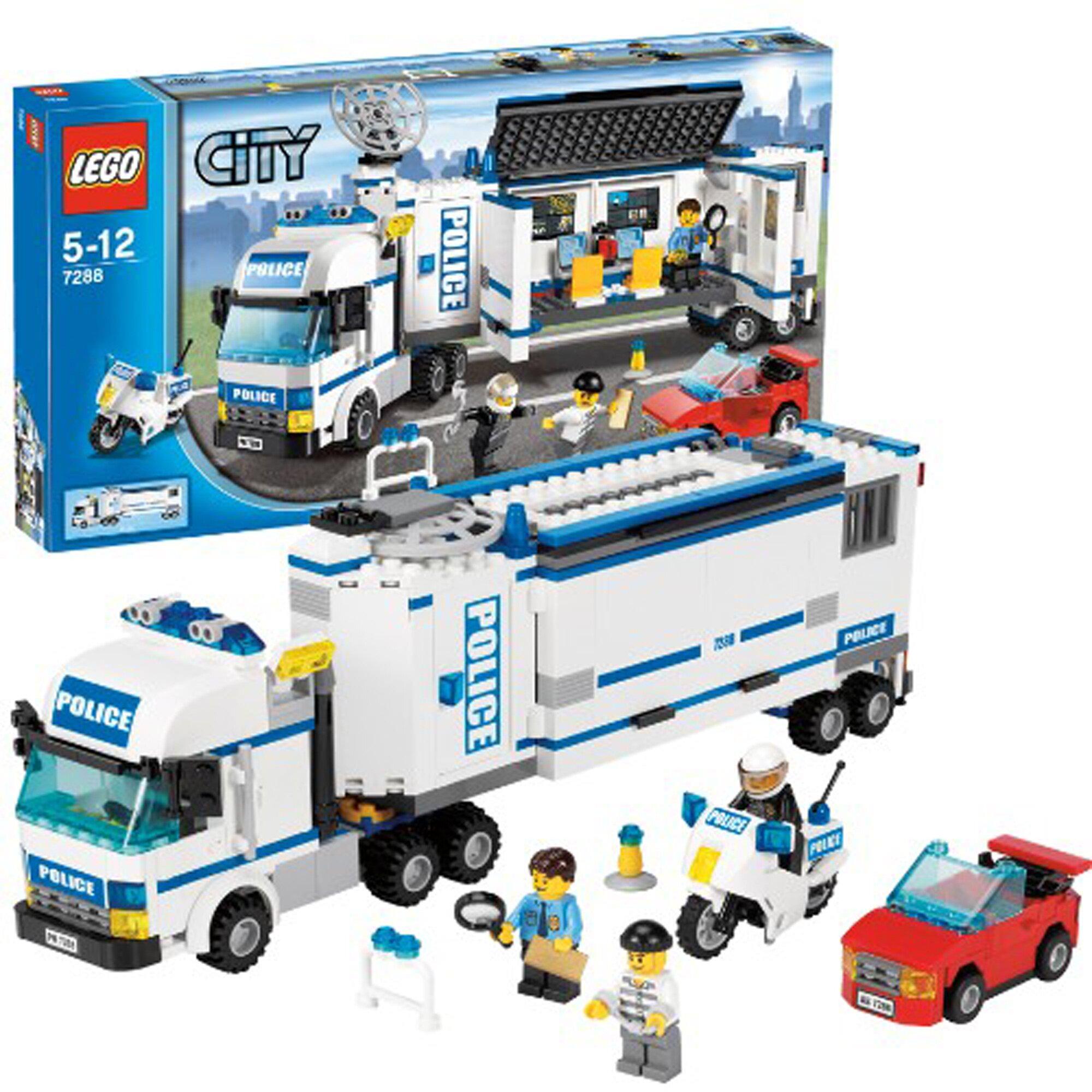 Lego city jeux d couvertes - Camion de police lego city ...