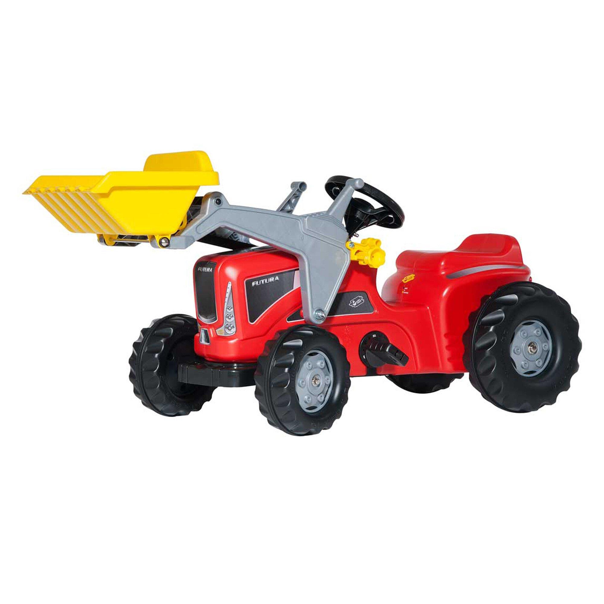 Rolly Toys® Trettraktor Rolly Kiddy Futura mit Frontlader