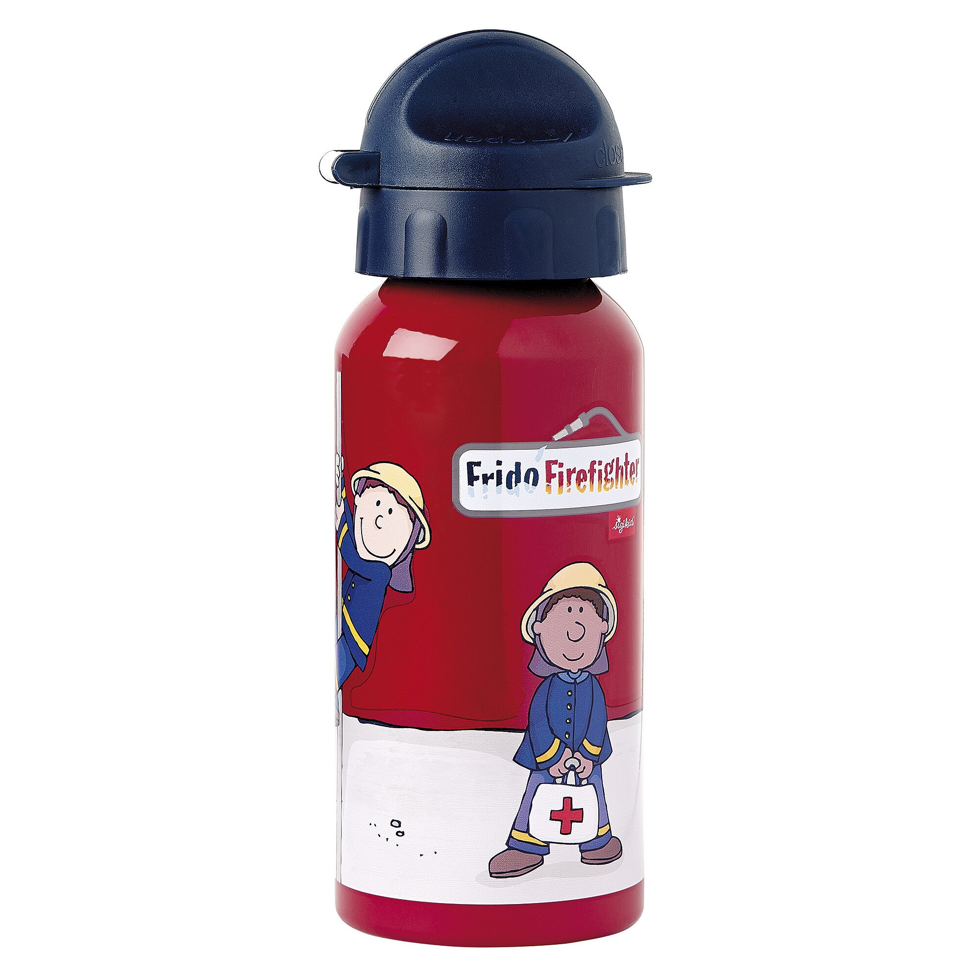 Frido Firefighter Alu-Trinkflasche