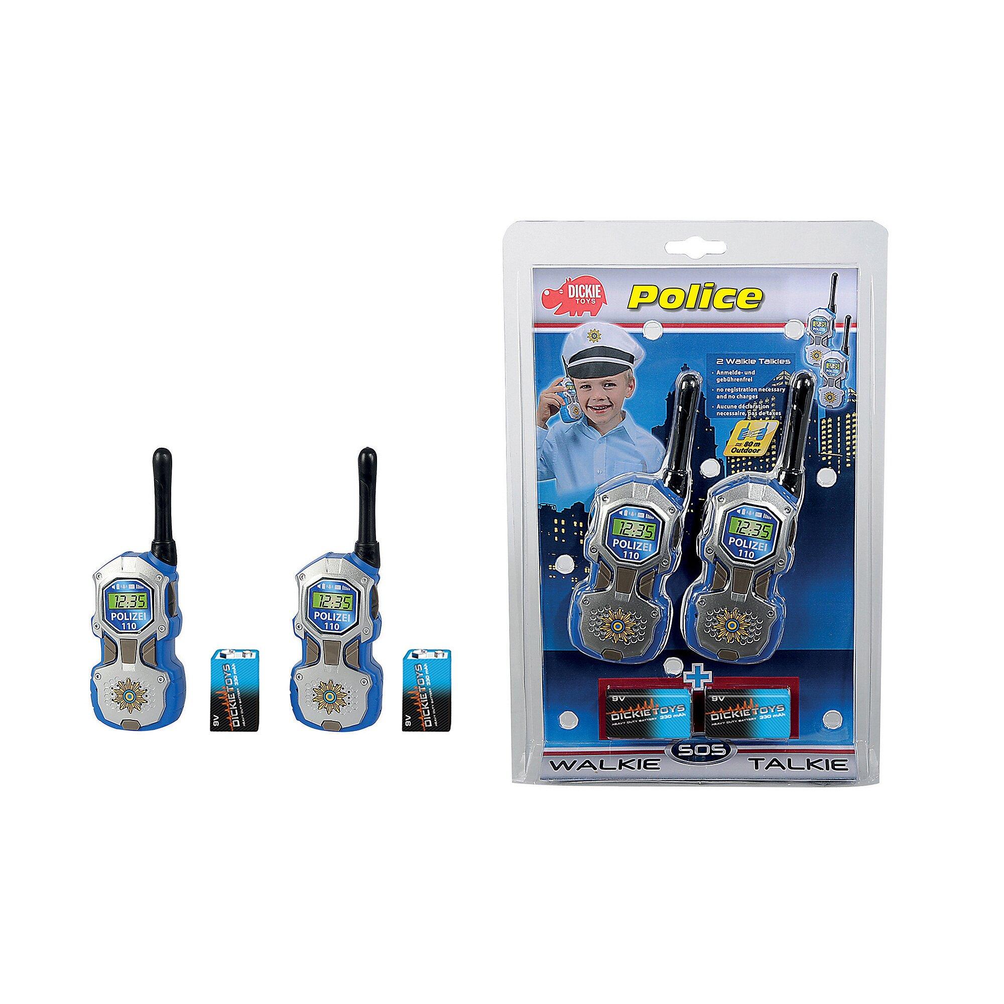 dickie-toys-walkie-talkie-polizei, 13.99 EUR @ babywalz-de