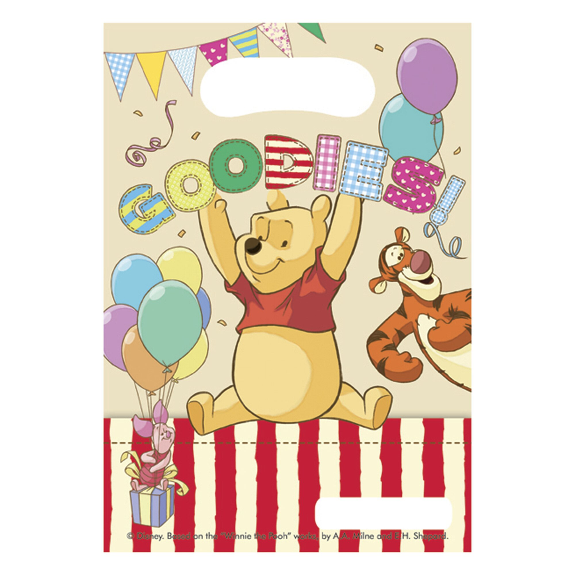 Disney Winnie Pooh Party-Tüten mehrfarbig