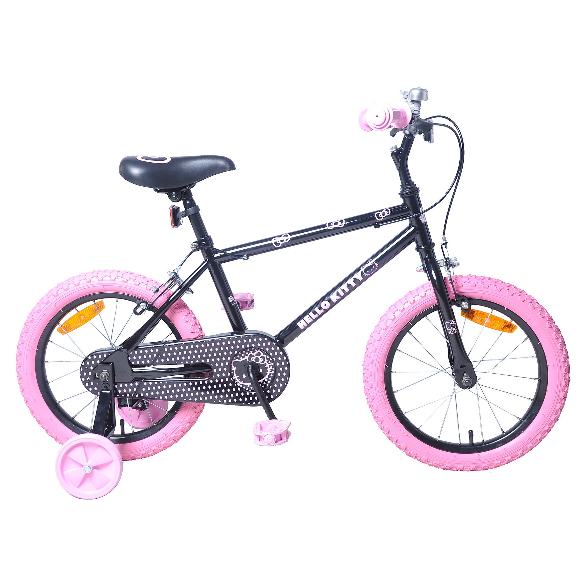 INJUSA Hello Kitty Fahrrad Hello Kitty 16 Zoll