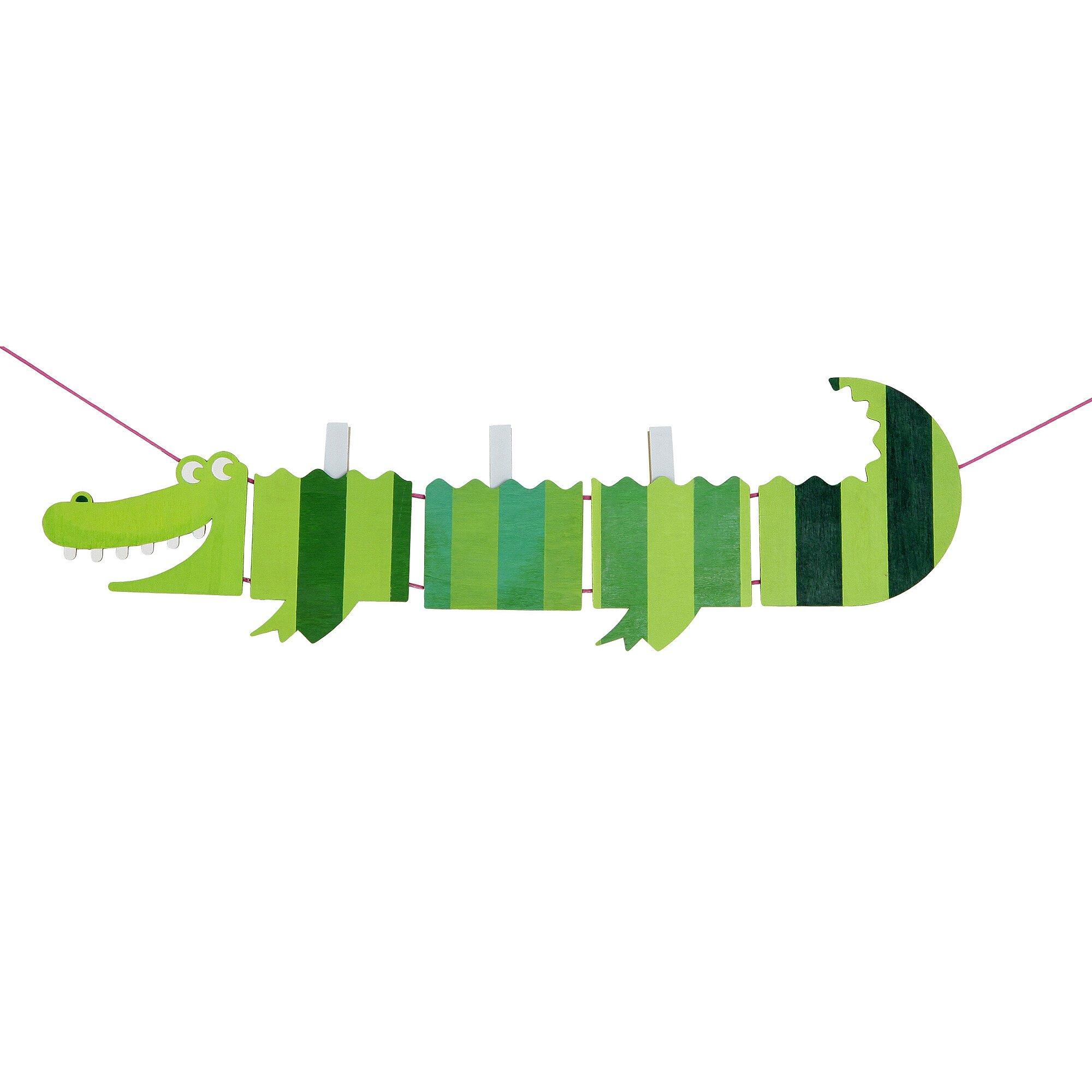 sunnysue-bausatz-memoklip-krokodil, 3.39 EUR @ babywalz-de
