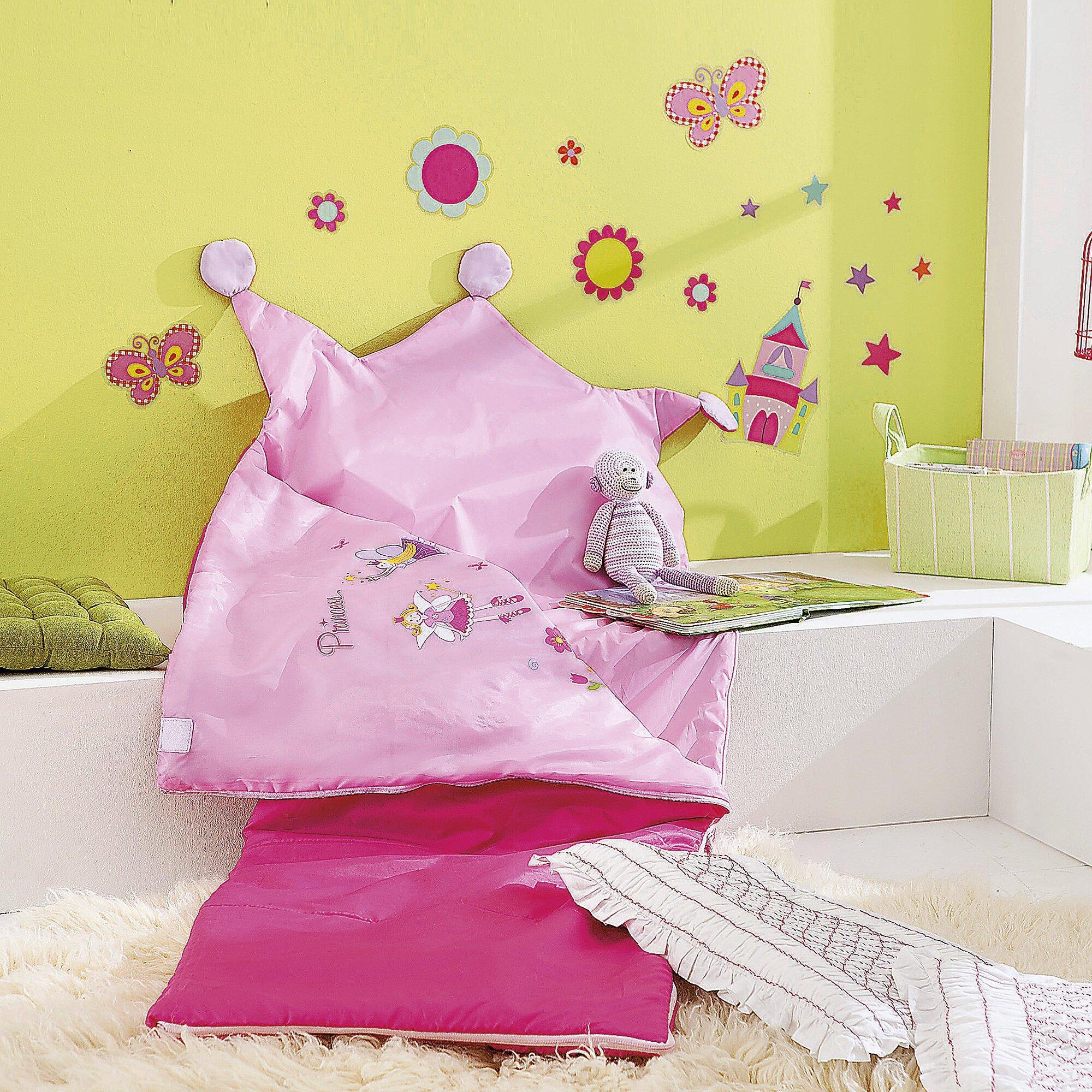 Encore plus de linge de lit chambre enfants - Sac de couchage princesse ...