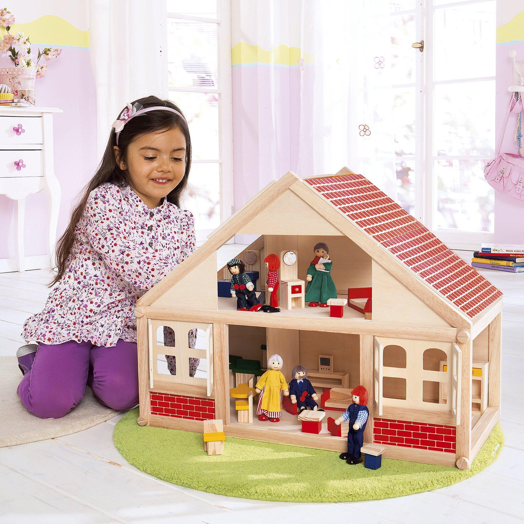 la maison des poup es jeux d couvertes. Black Bedroom Furniture Sets. Home Design Ideas