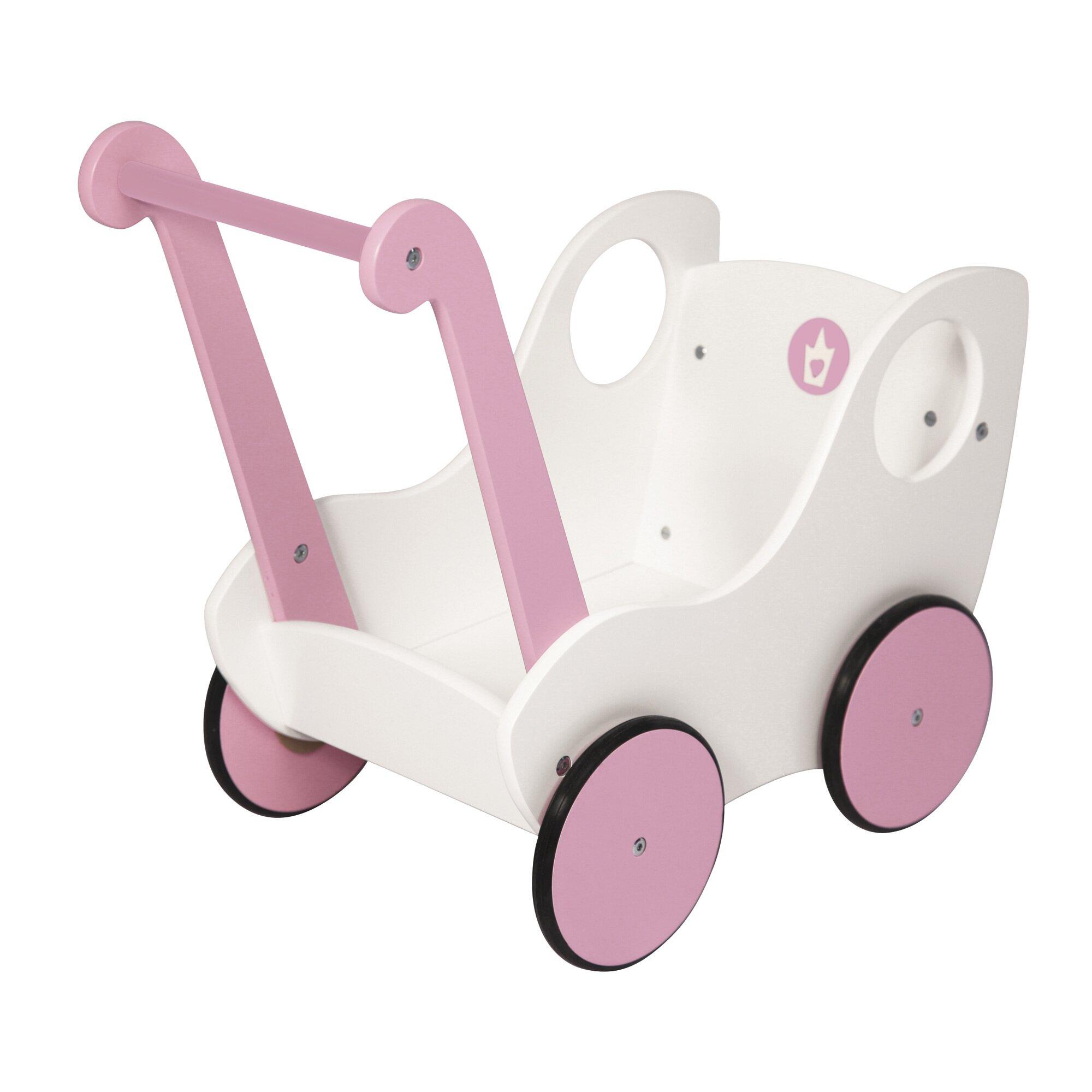 BAYER DESIGN Lauflernwagen, weiß/rosa R7