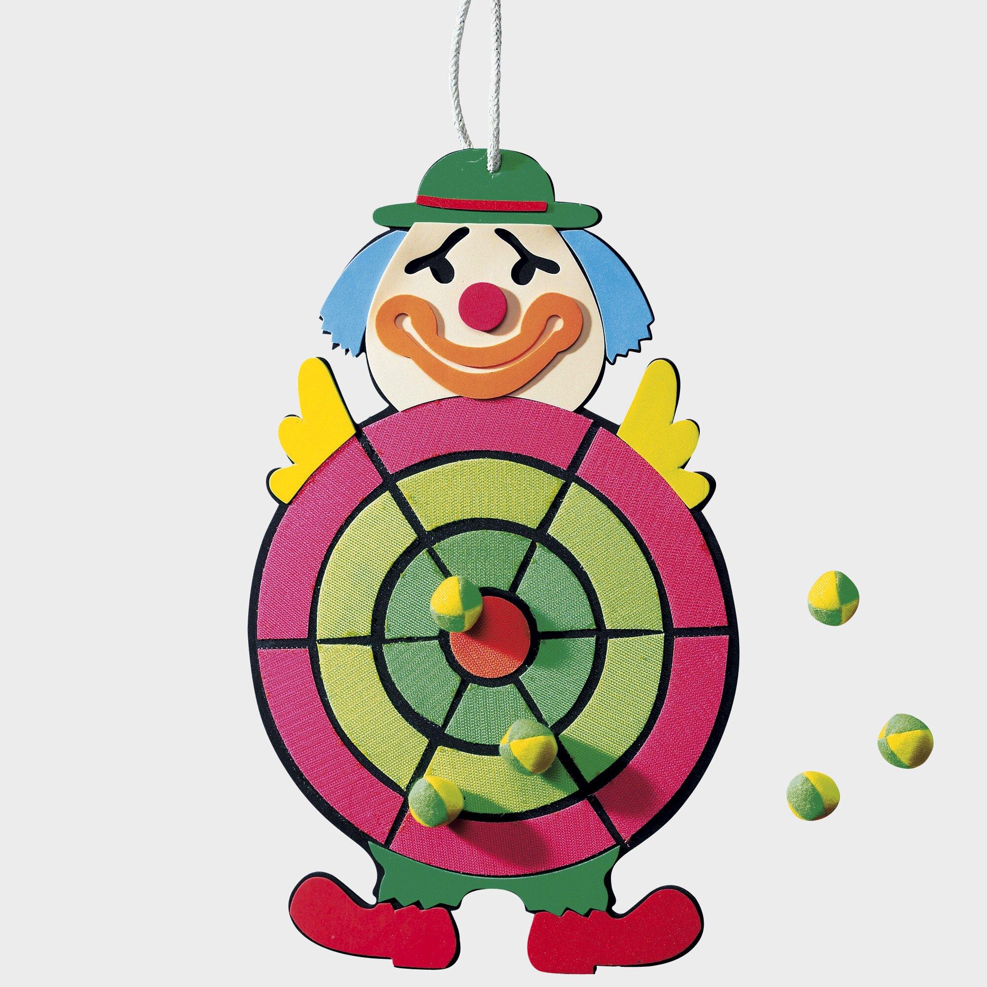 Klettwurfspiel Clown