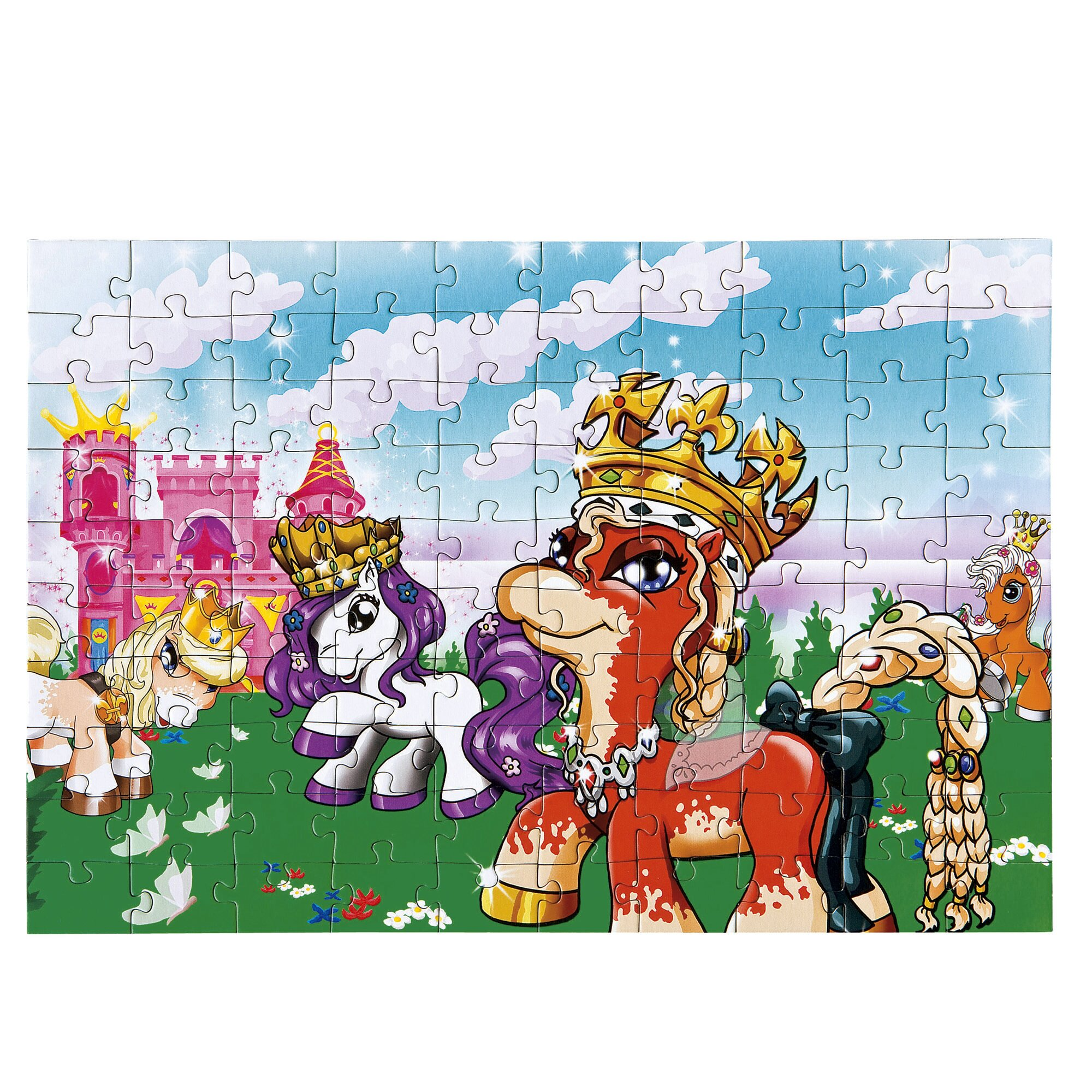 Un monde color de 100 pi ces le puzzle filly princess - Code reduction maison du monde ...