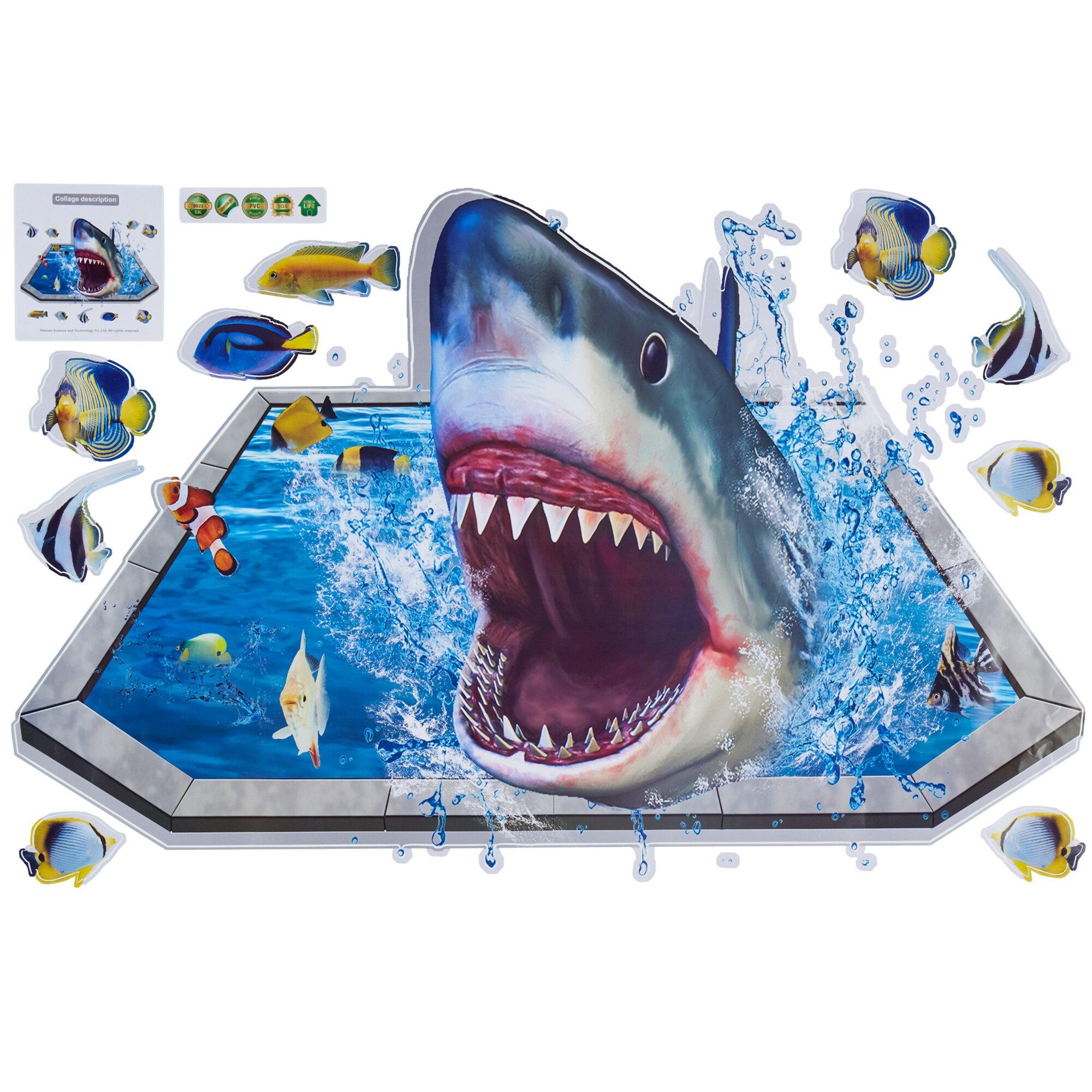 "Image of 3D-Bild ""Hai-Attacke"""