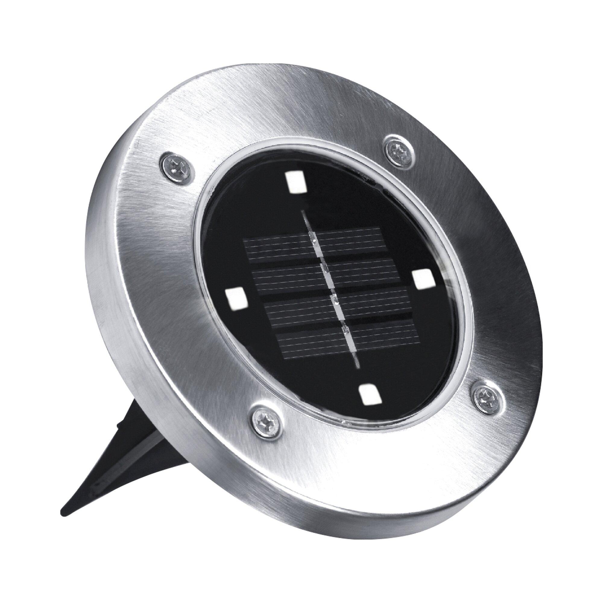 "Image of ""Disk Lights"" - LED-Solarleuchten, 4 Stück von Mediashop"
