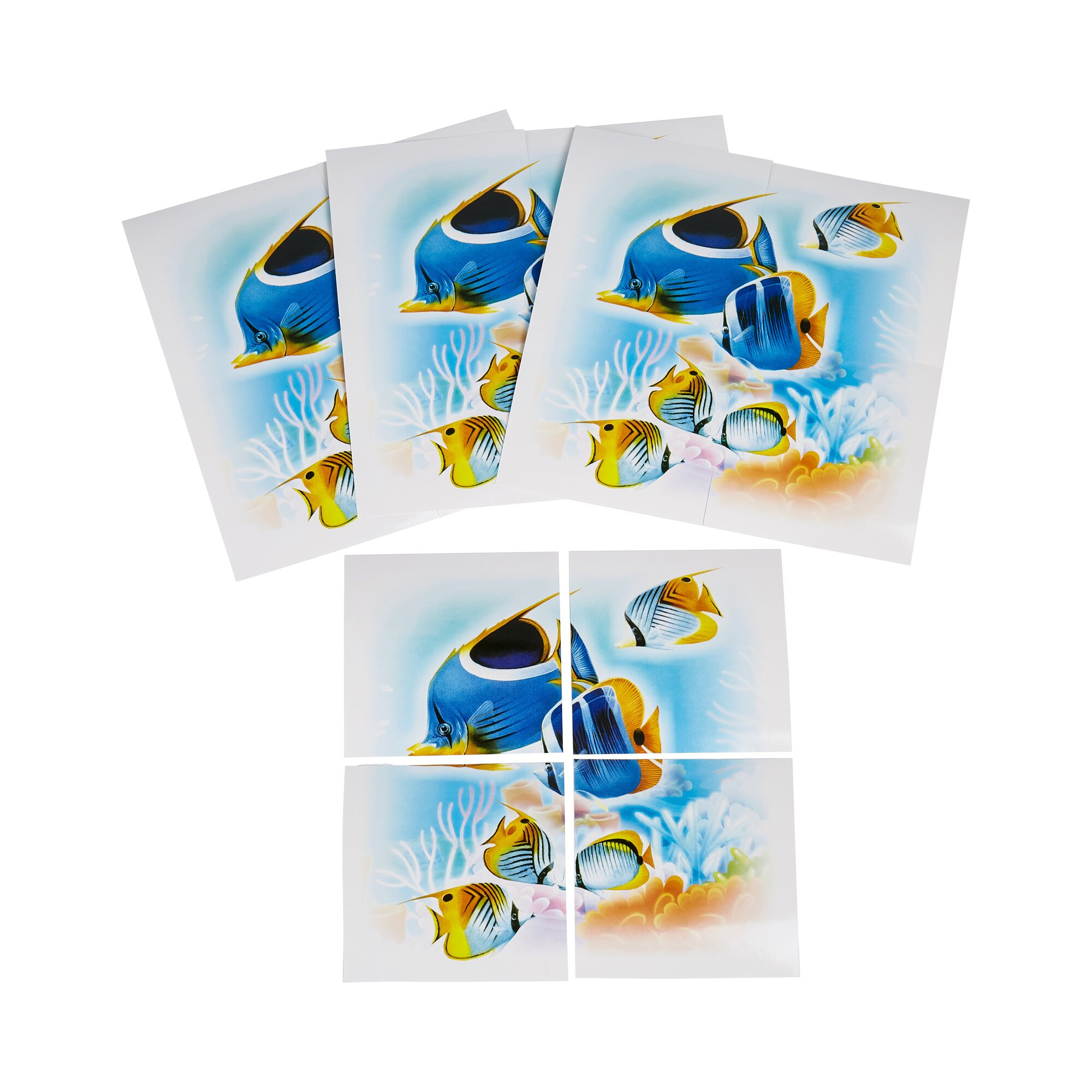 Image of Fliesen-Sticker Unterwasserwelt, 1 Set