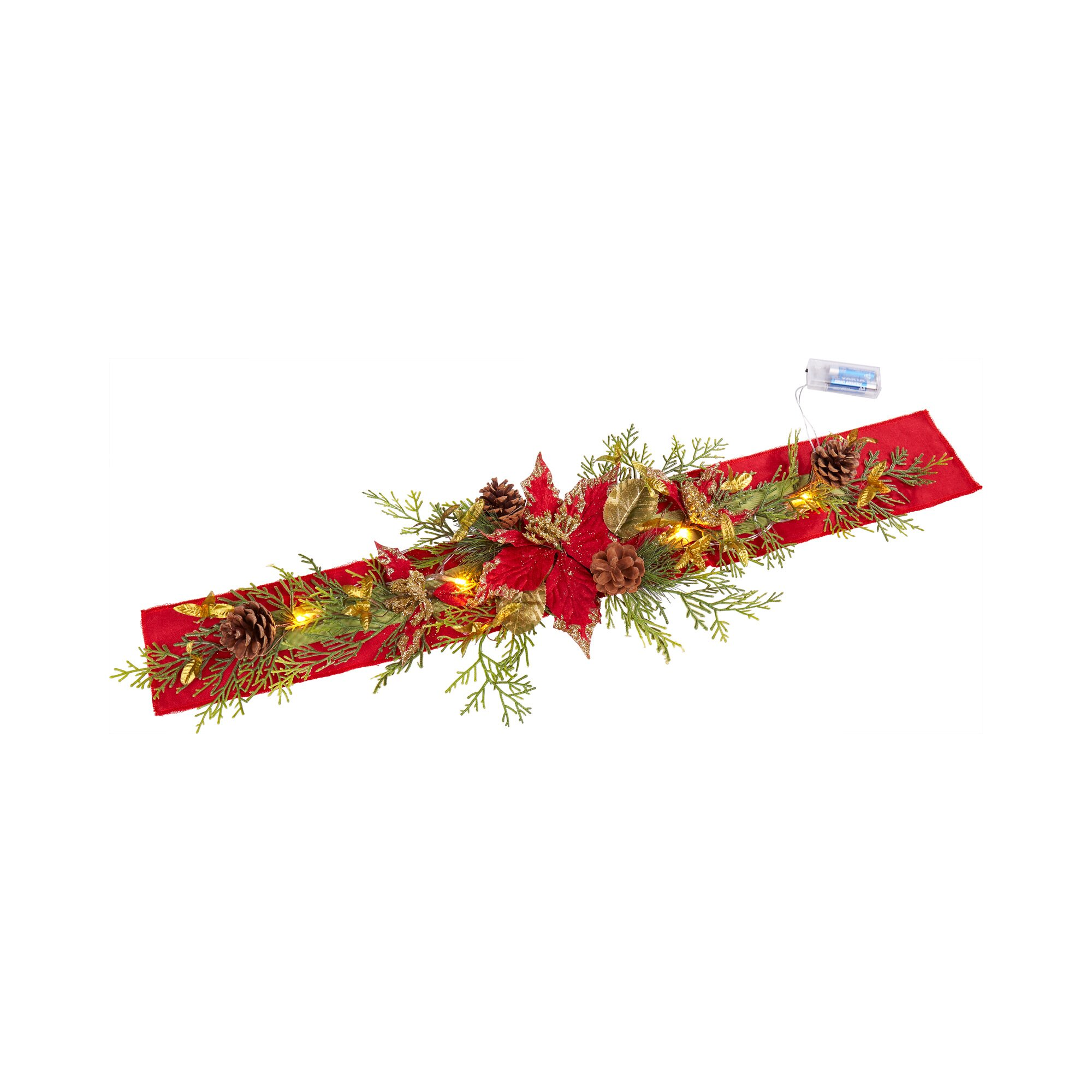 "Image of LED-Weihnachts-Läufer ""Christstern"""