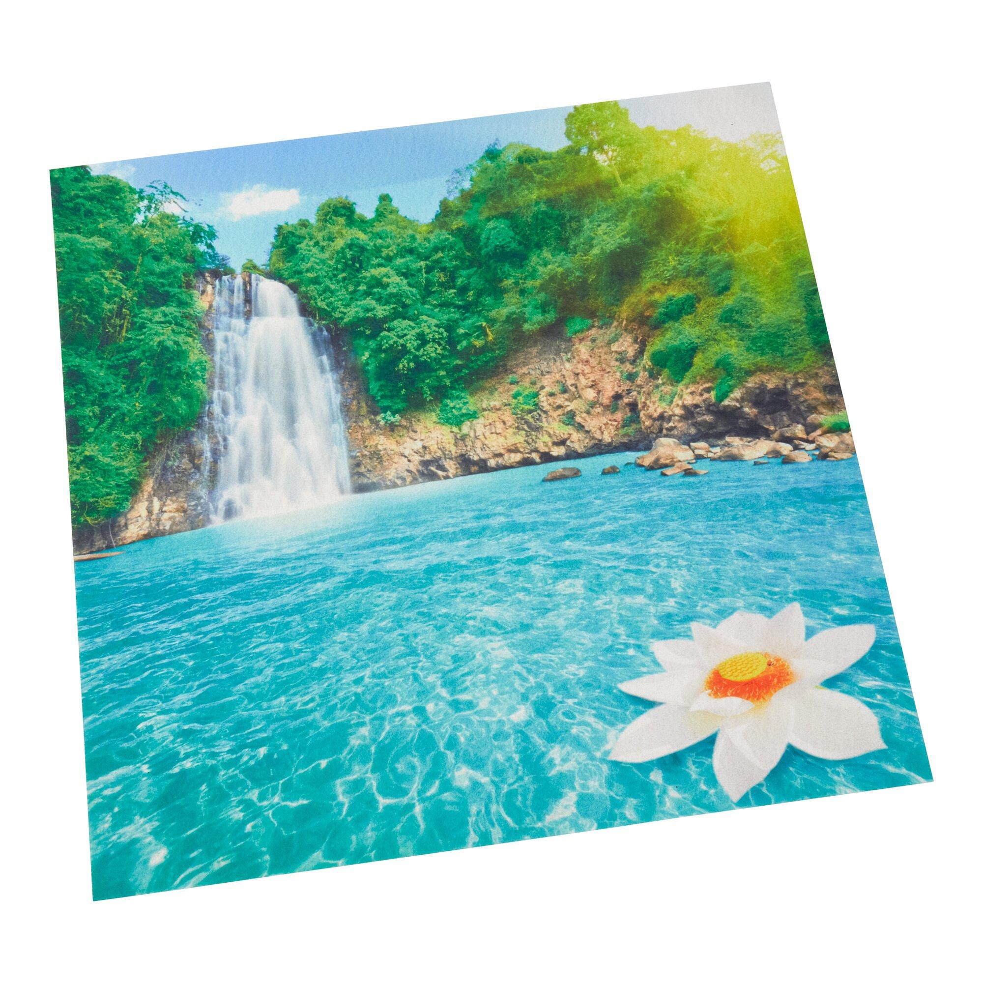 """Image of Waschmaschinen-Auflage """"Wasserfall"""""""