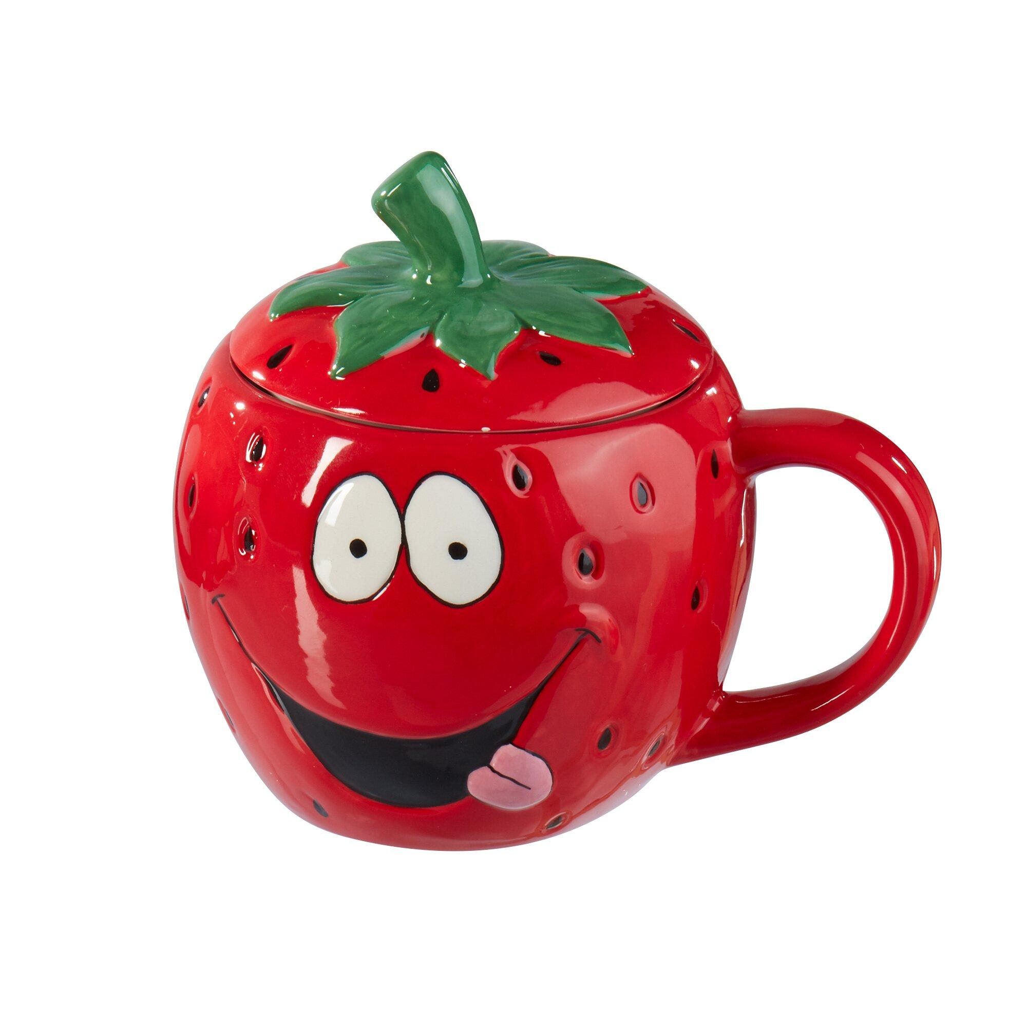 Image of Erdbeer-Tasse, 450 ml