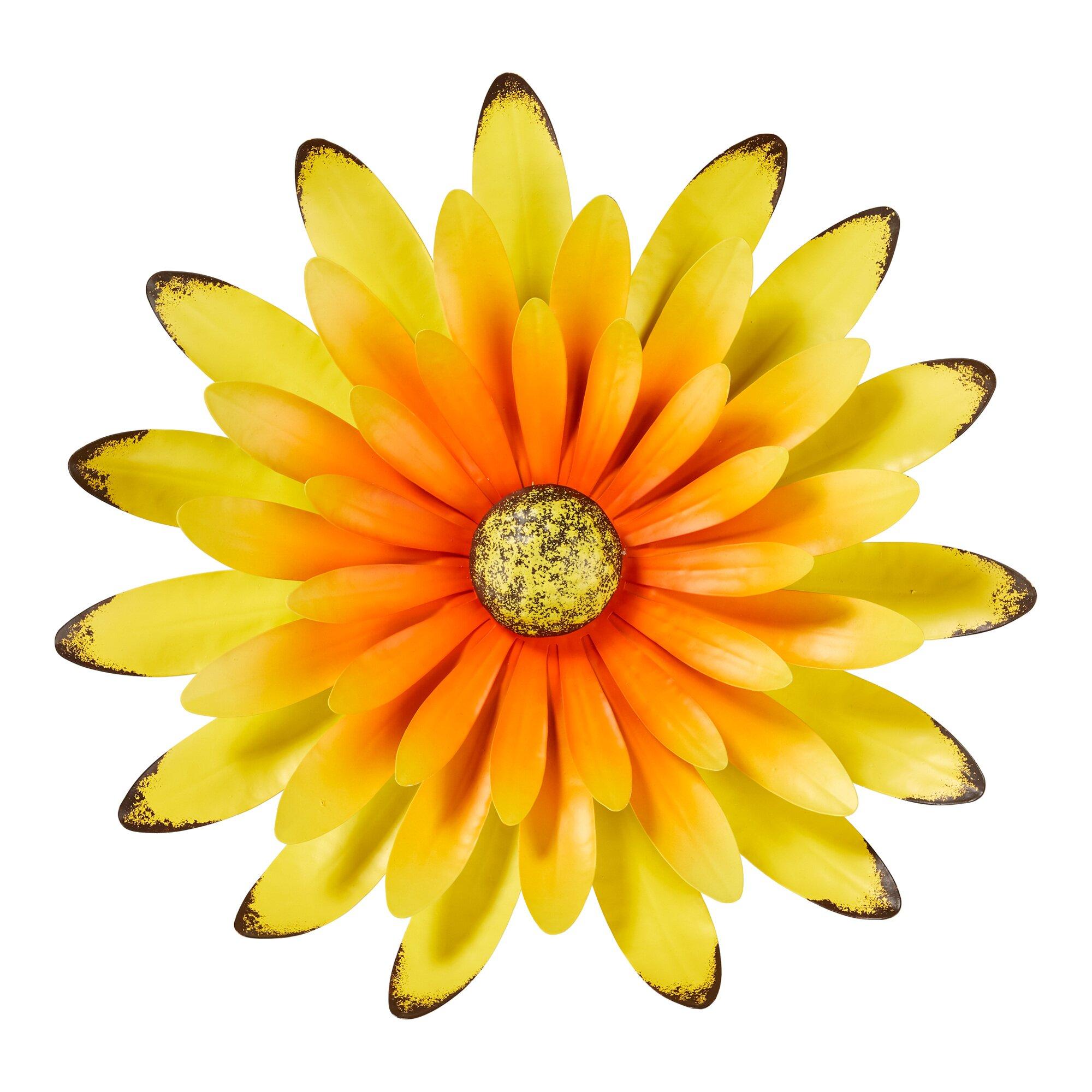 "Image of 3D-Wanddeko ""Sonnenblume"""
