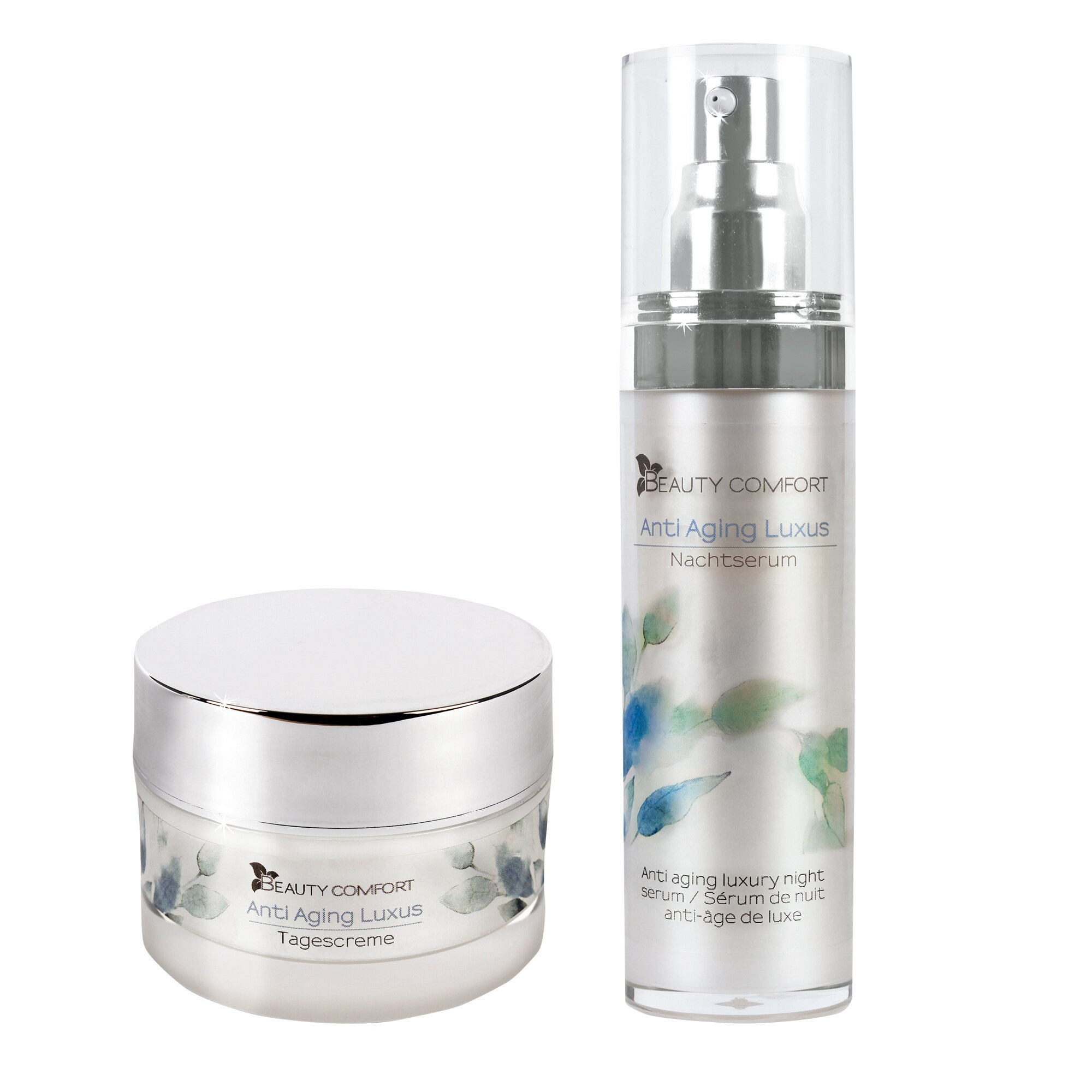 Image of Anti Aging Luxus Tages- und Nachtcreme, 2 Teile