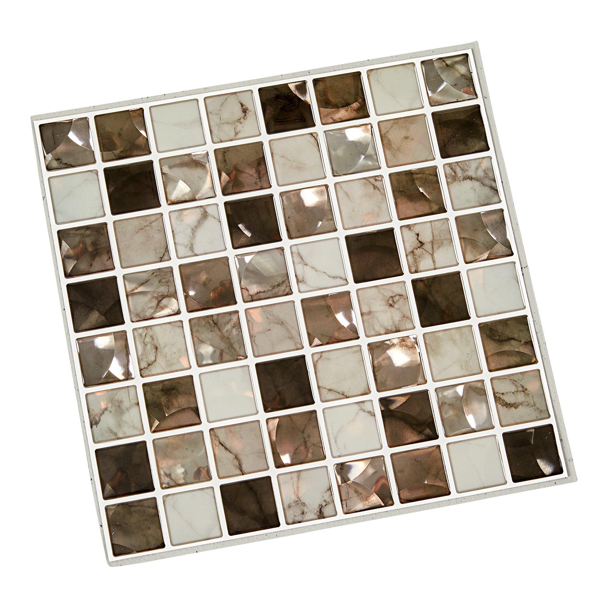 """Image of Klebefliesen """"Mosaik"""", 4 Stück"""