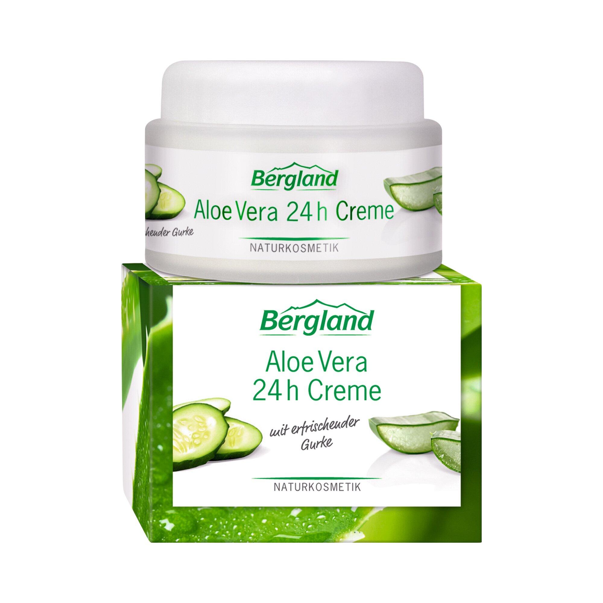 Image of Bergland Aloe Vera 24h Creme