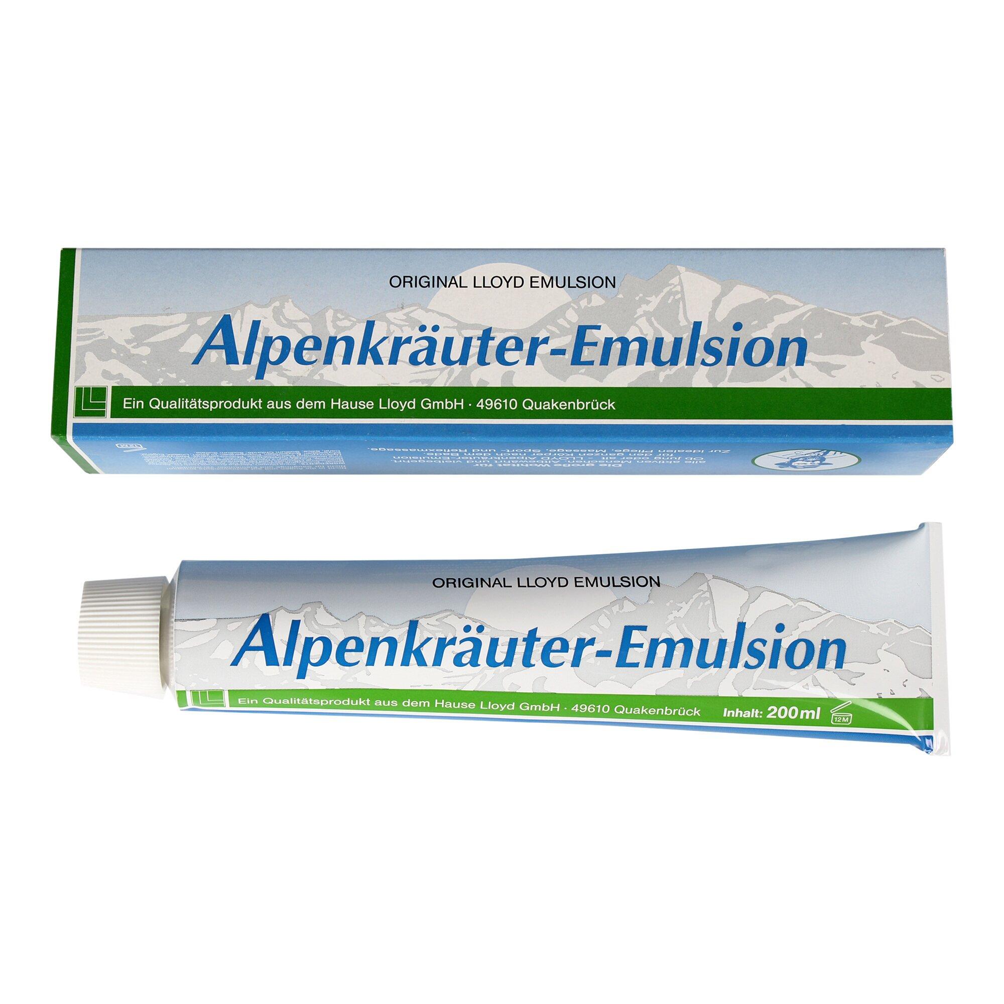 Image of Alpenkräuter Emulsion