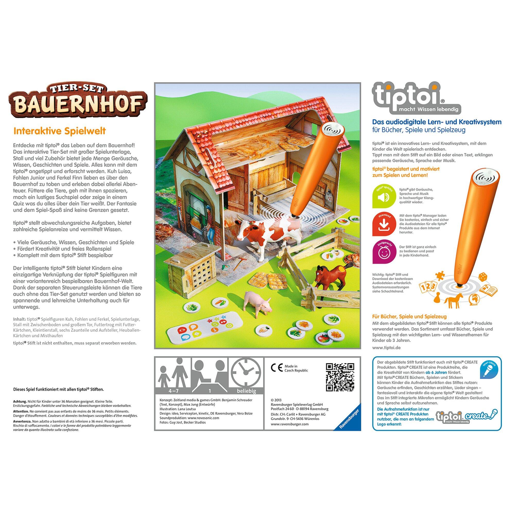 tiptoi-tier-set-bauernhof
