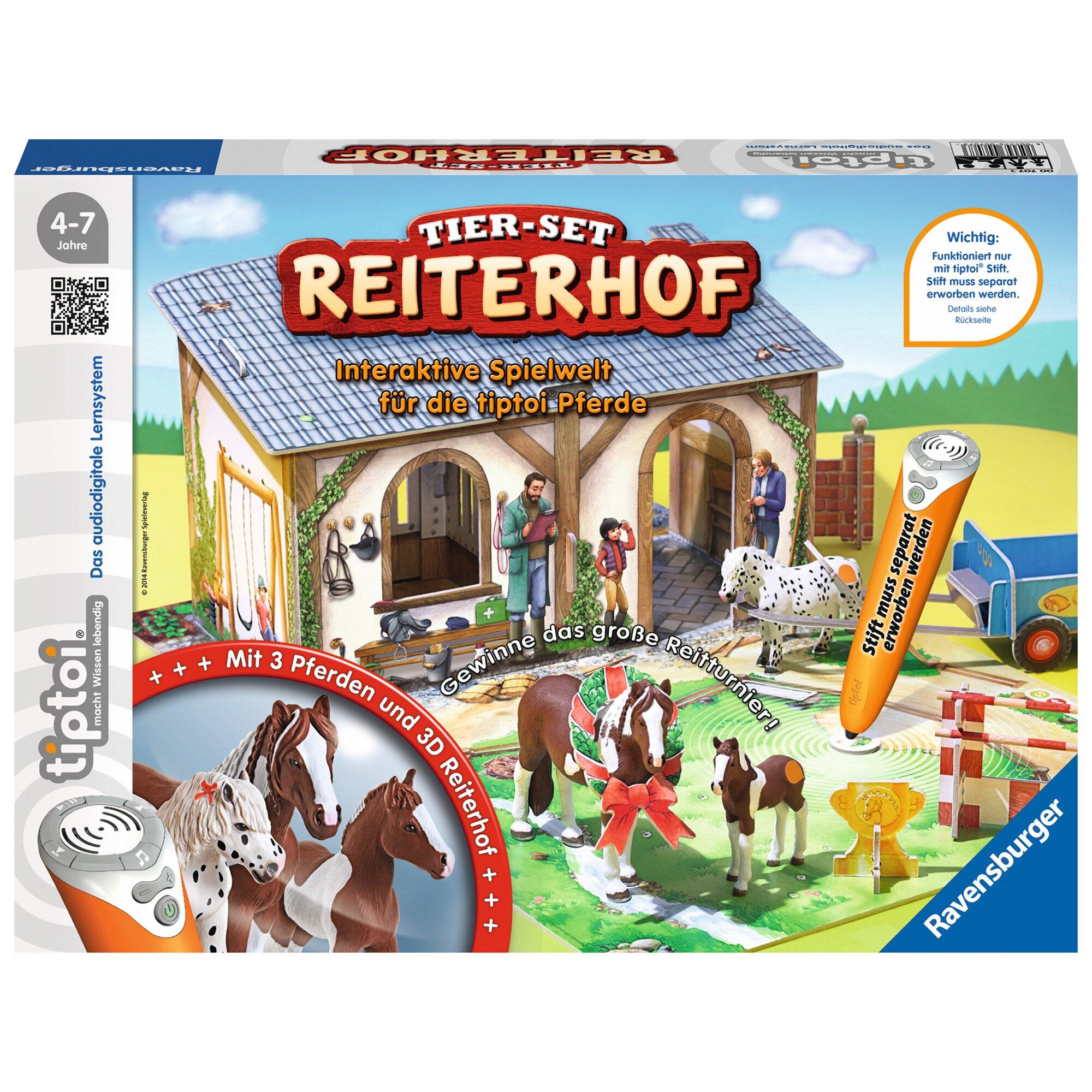Tiptoi Tier-Set Reiterhof