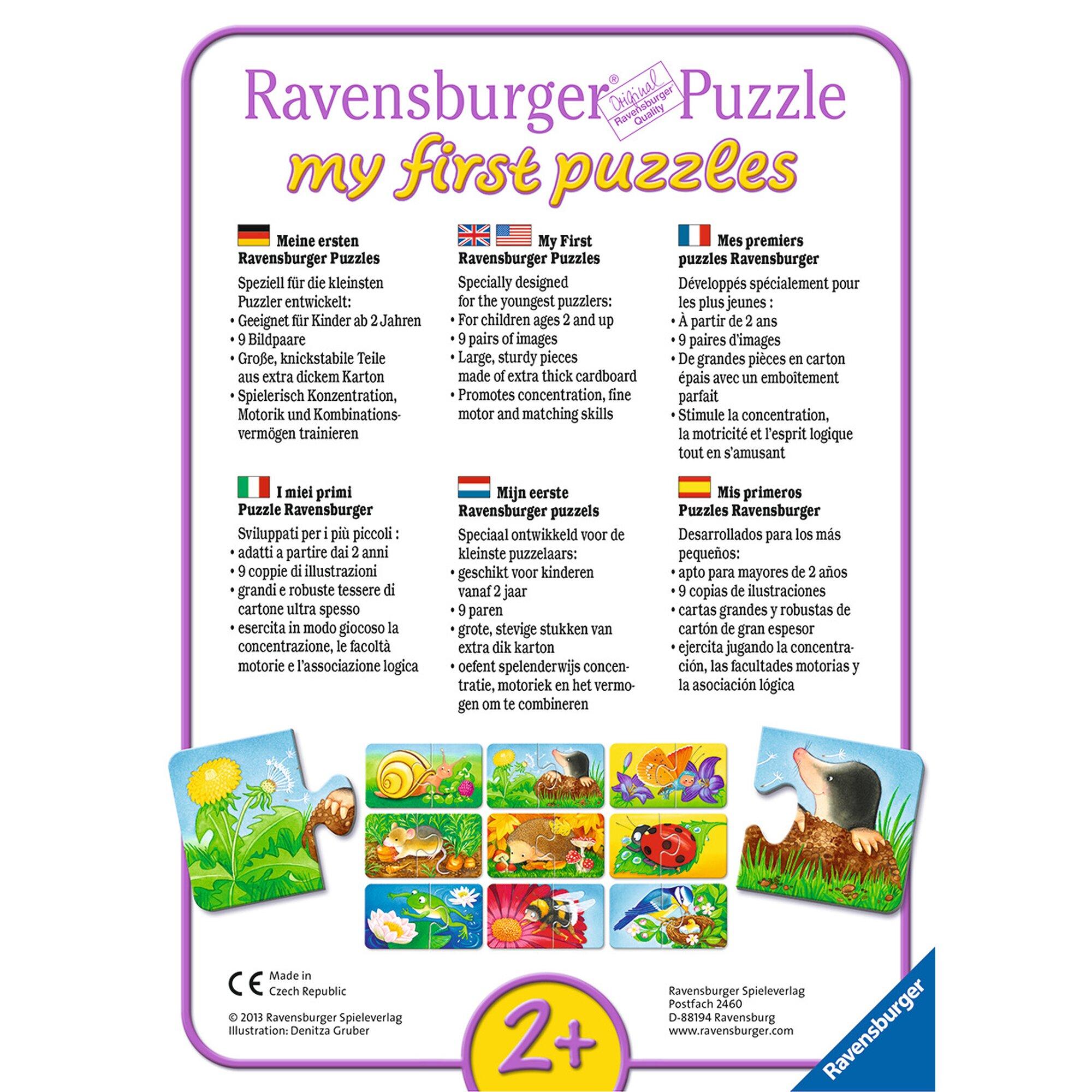 ravensburger-my-first-puzzles-9x2-2-teile-einsatzfahrzeuge, 7.99 EUR @ babywalz-de