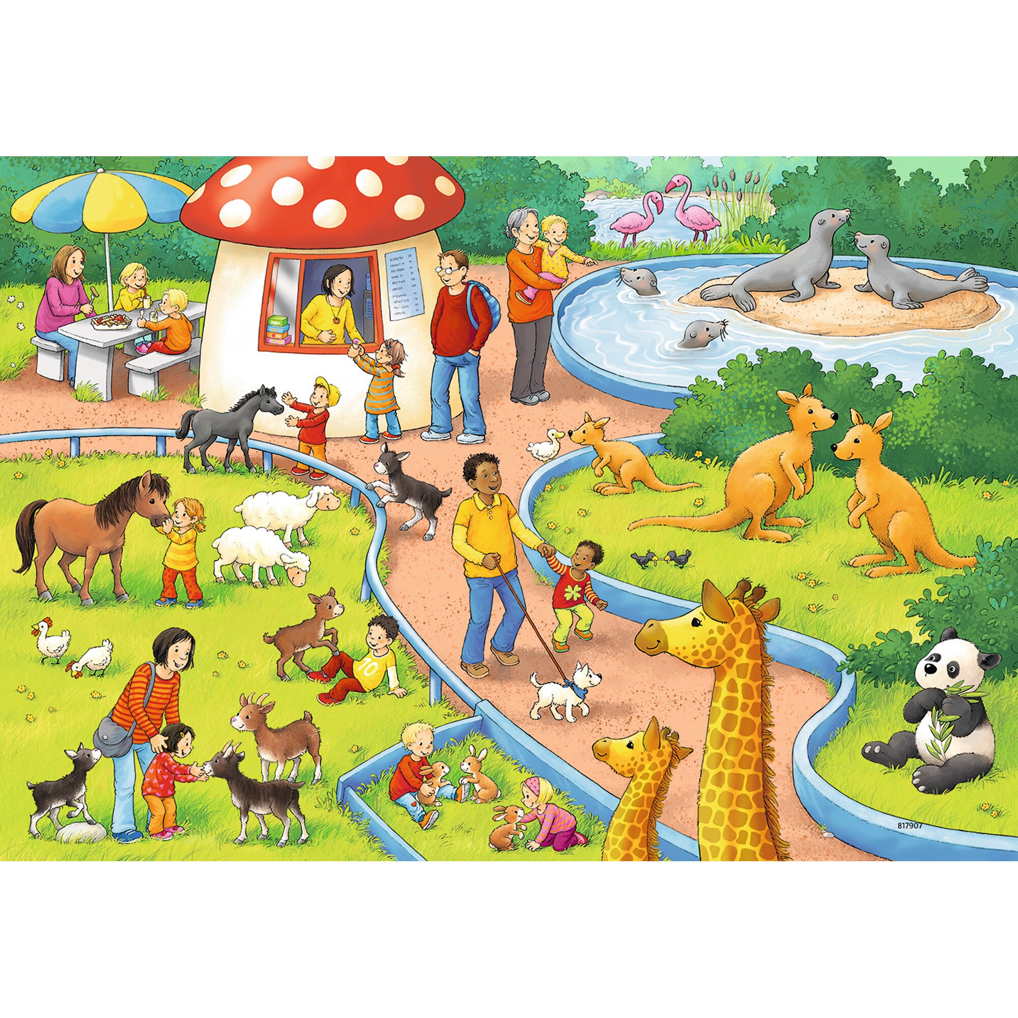 ravensburger-zwei-kinderpuzzles-inkl-mini-postern-at-zoo-2x24p