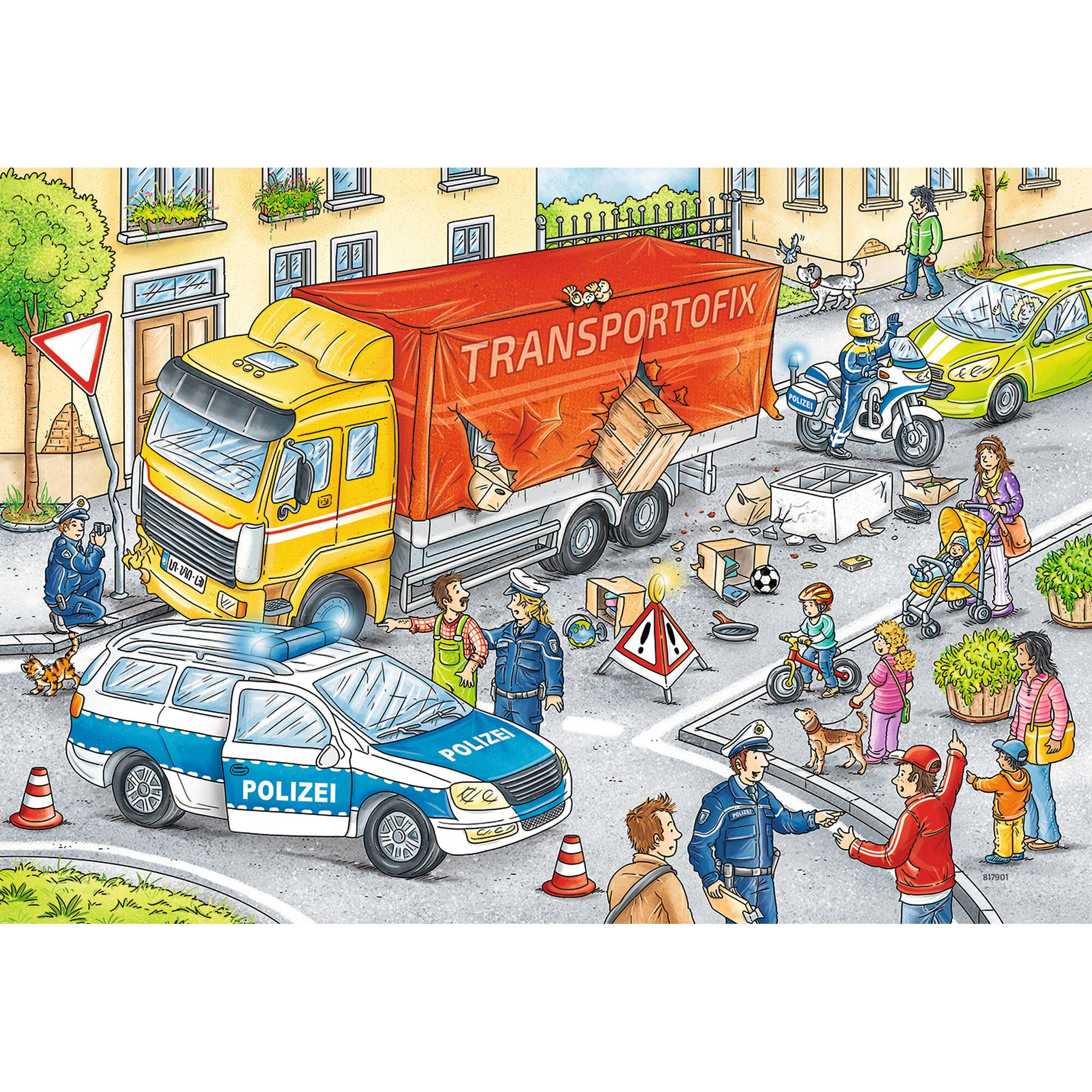 ravensburger-zwei-kinderpuzzles-inkl-mini-postern-helden-im-einsatz, 9.99 EUR @ babywalz-de