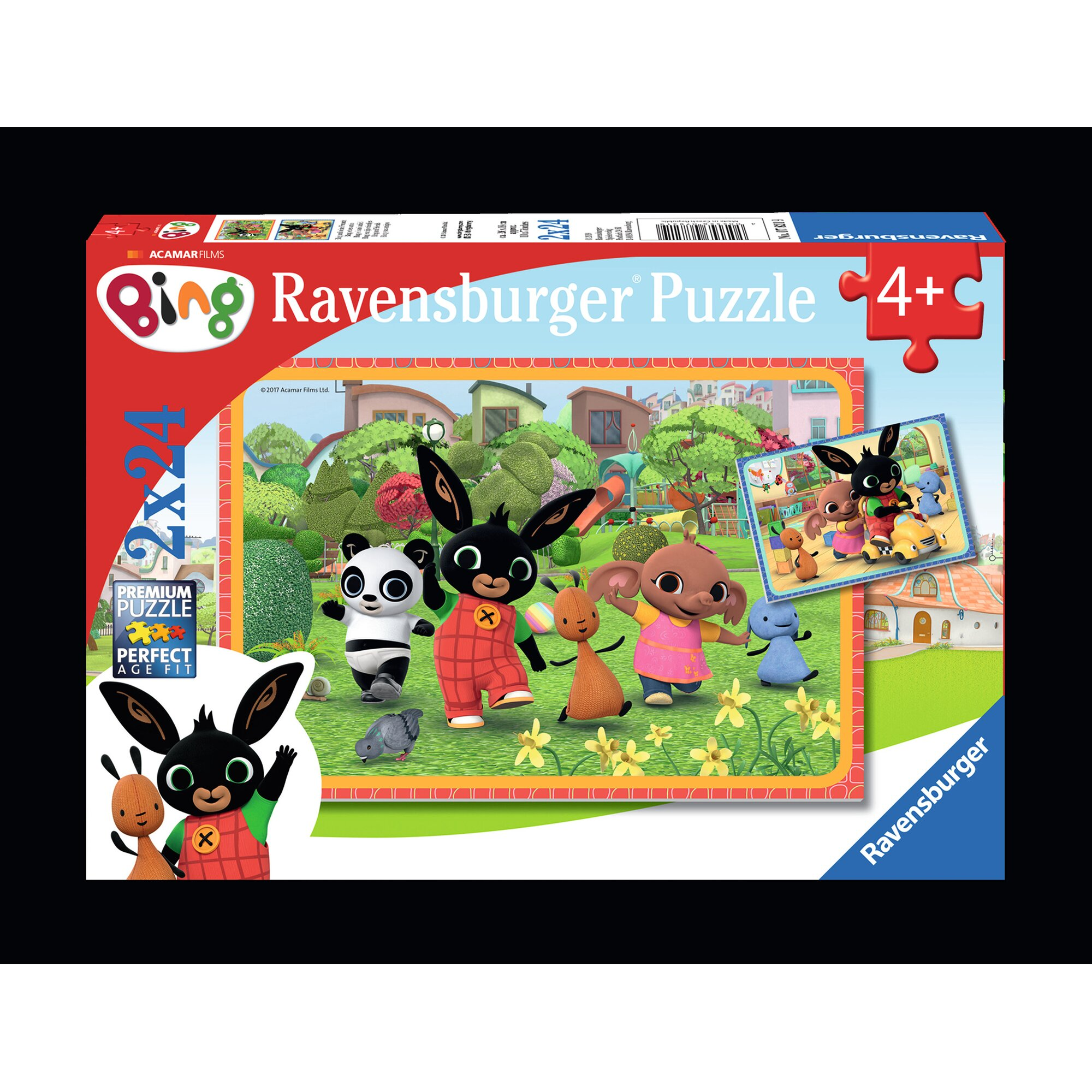ravensburger-zwei-kinderpuzzles-inkl-mini-postern-24-teile-bing-und-seine-freunde, 9.99 EUR @ babywalz-de