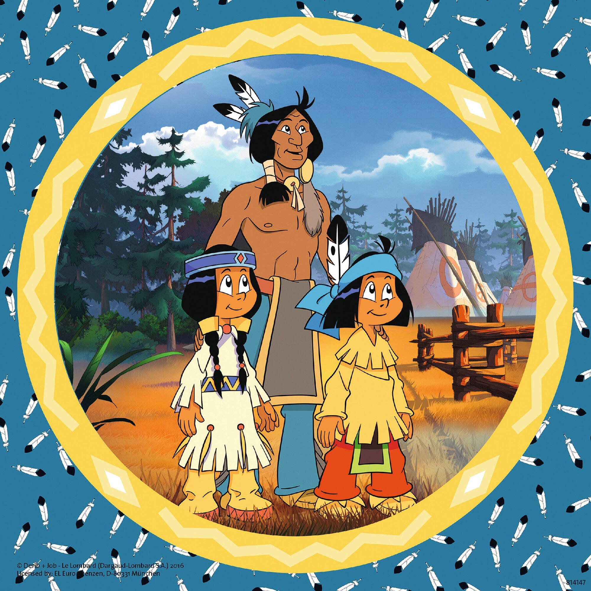 ravensburger-drei-kinderpuzzles-inkl-mini-postern-49-teile-yakari-der-tapfere-indianer