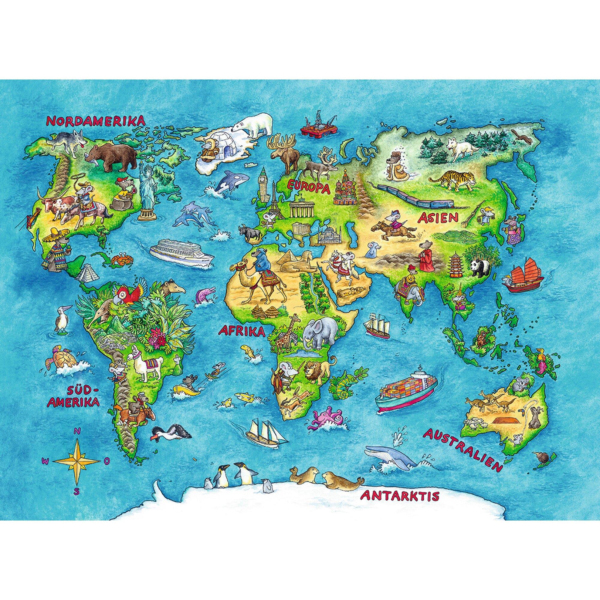 ravensburger-kinderpuzzle-im-xxl-format-100-teile-reise-um-die-welt