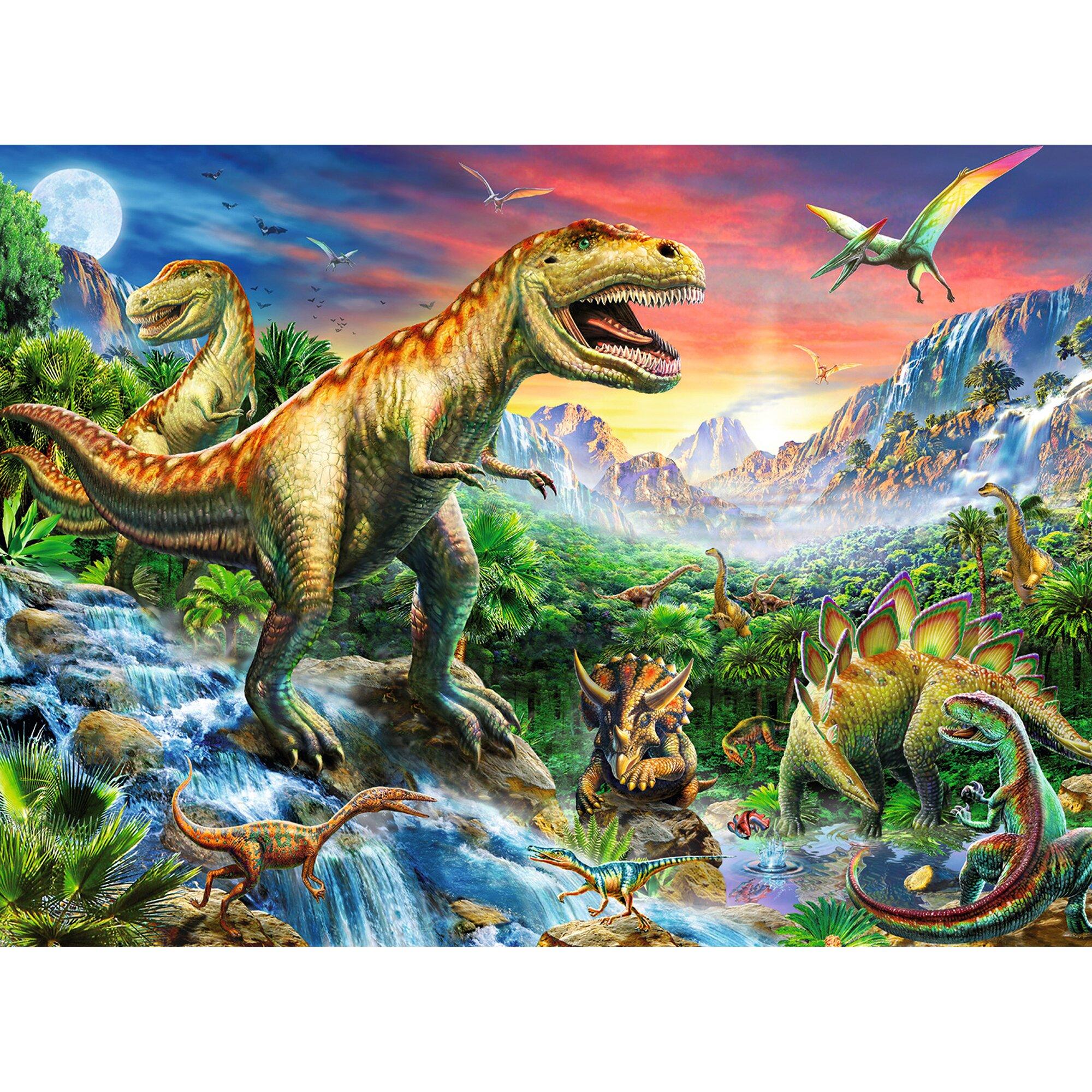 ravensburger-kinderpuzzle-im-xxl-format-100-teile-bei-den-dinosauriern