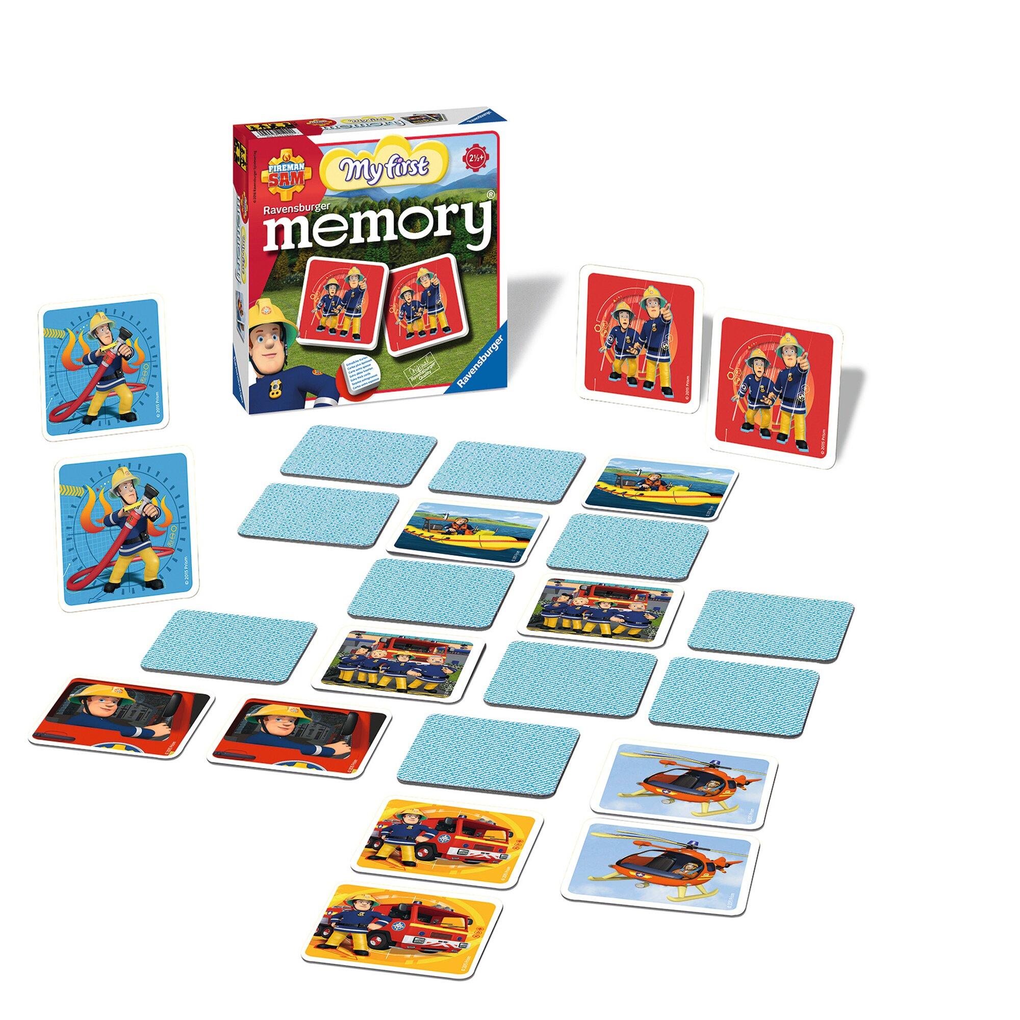 ravensburger-fireman-sam-mein-erstes-memory-legekartenspiel, 13.99 EUR @ babywalz-de