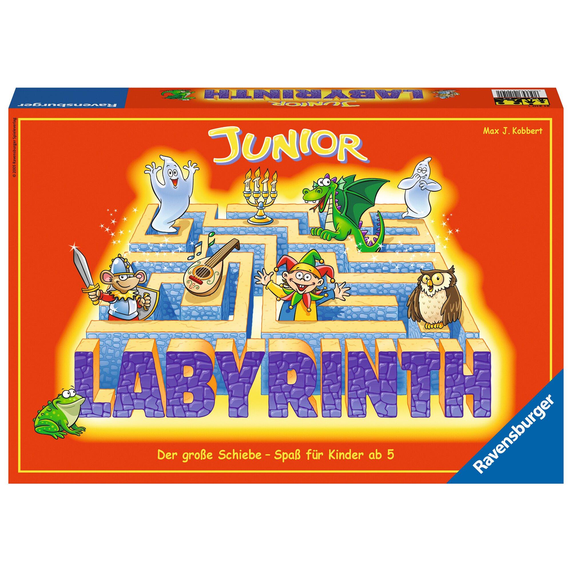 Ravensburger Junior Labyrinth, Such-Schiebespiel